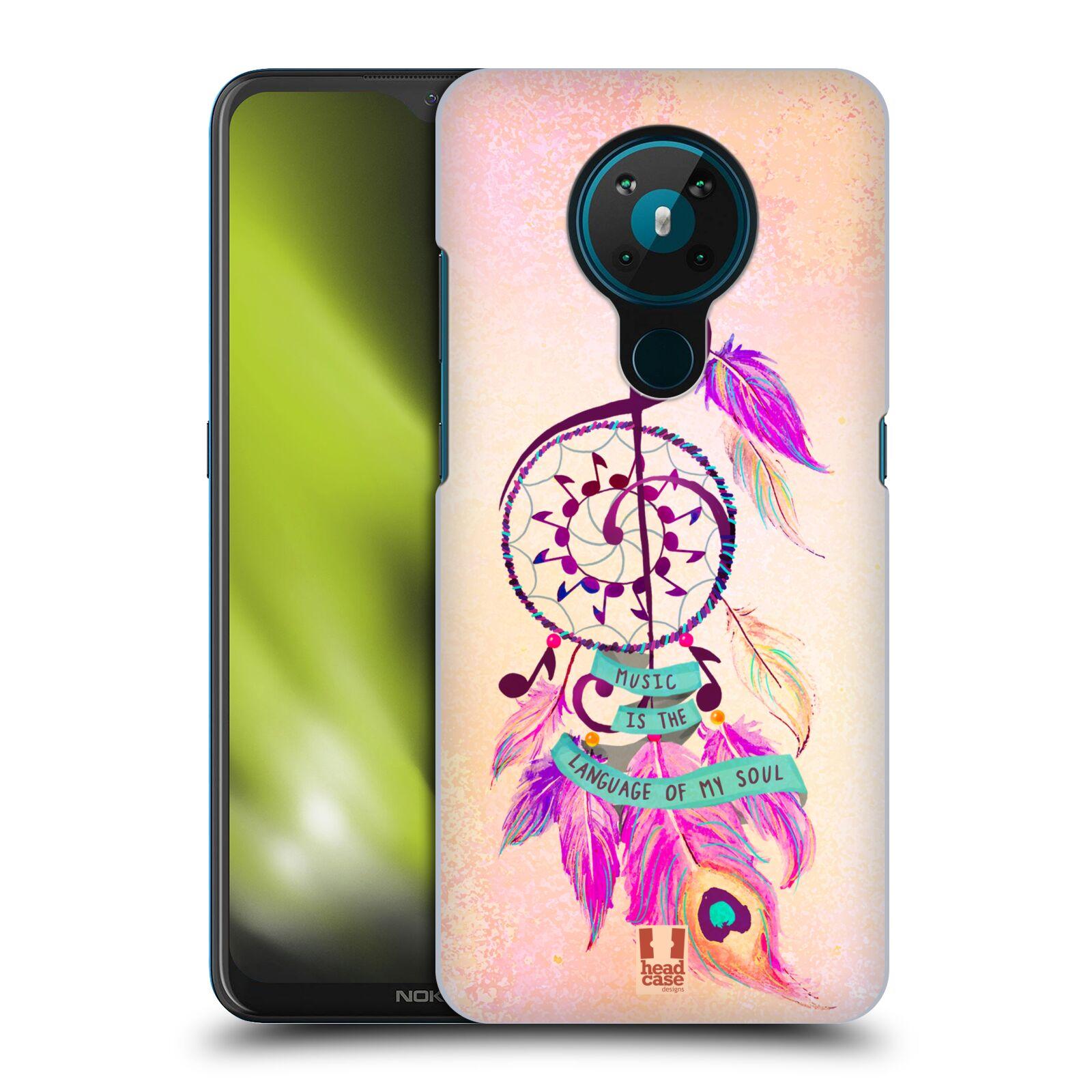 Plastové pouzdro na mobil Nokia 5.3 - Head Case - Lapač Assorted Music