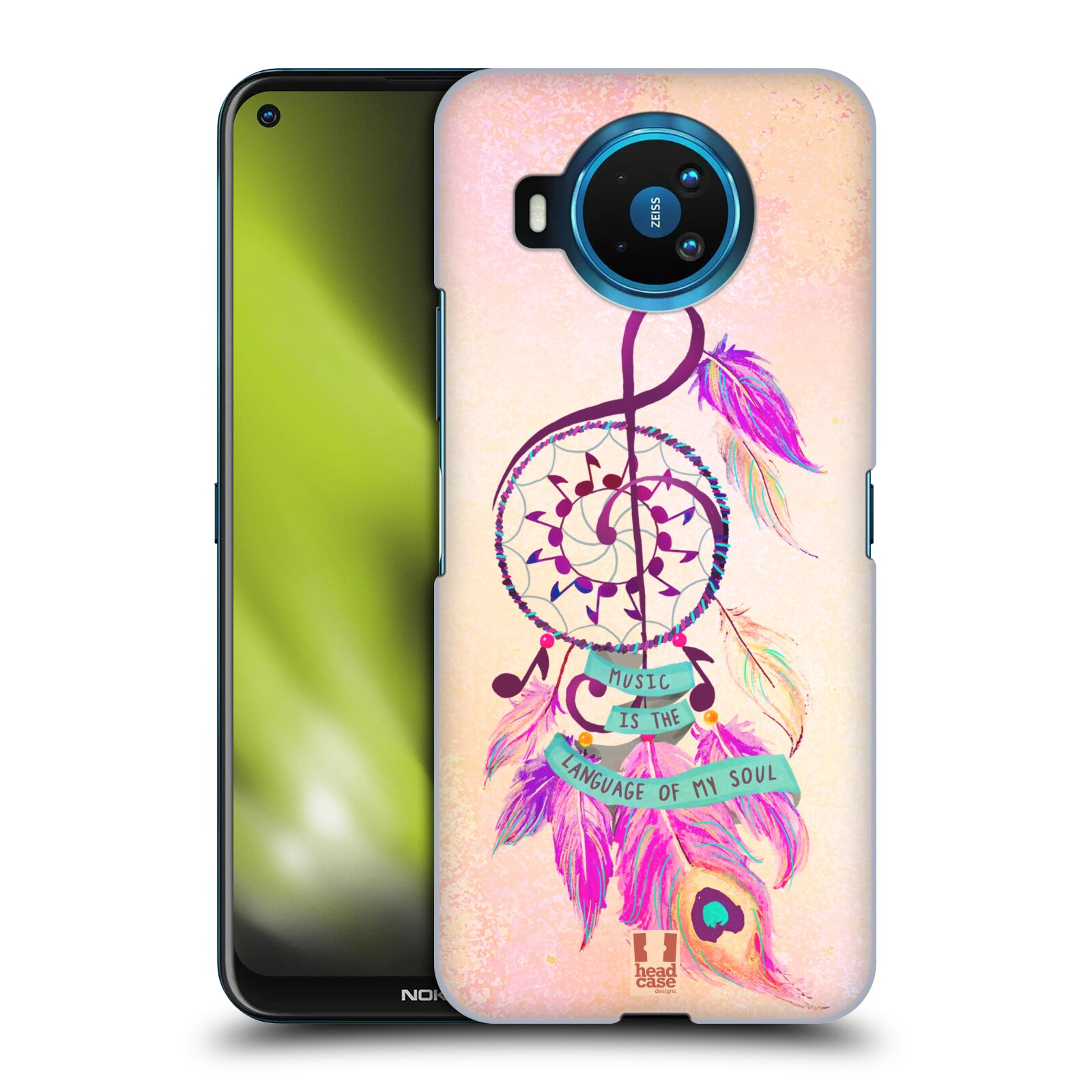 Plastové pouzdro na mobil Nokia 8.3 5G - Head Case - Lapač Assorted Music
