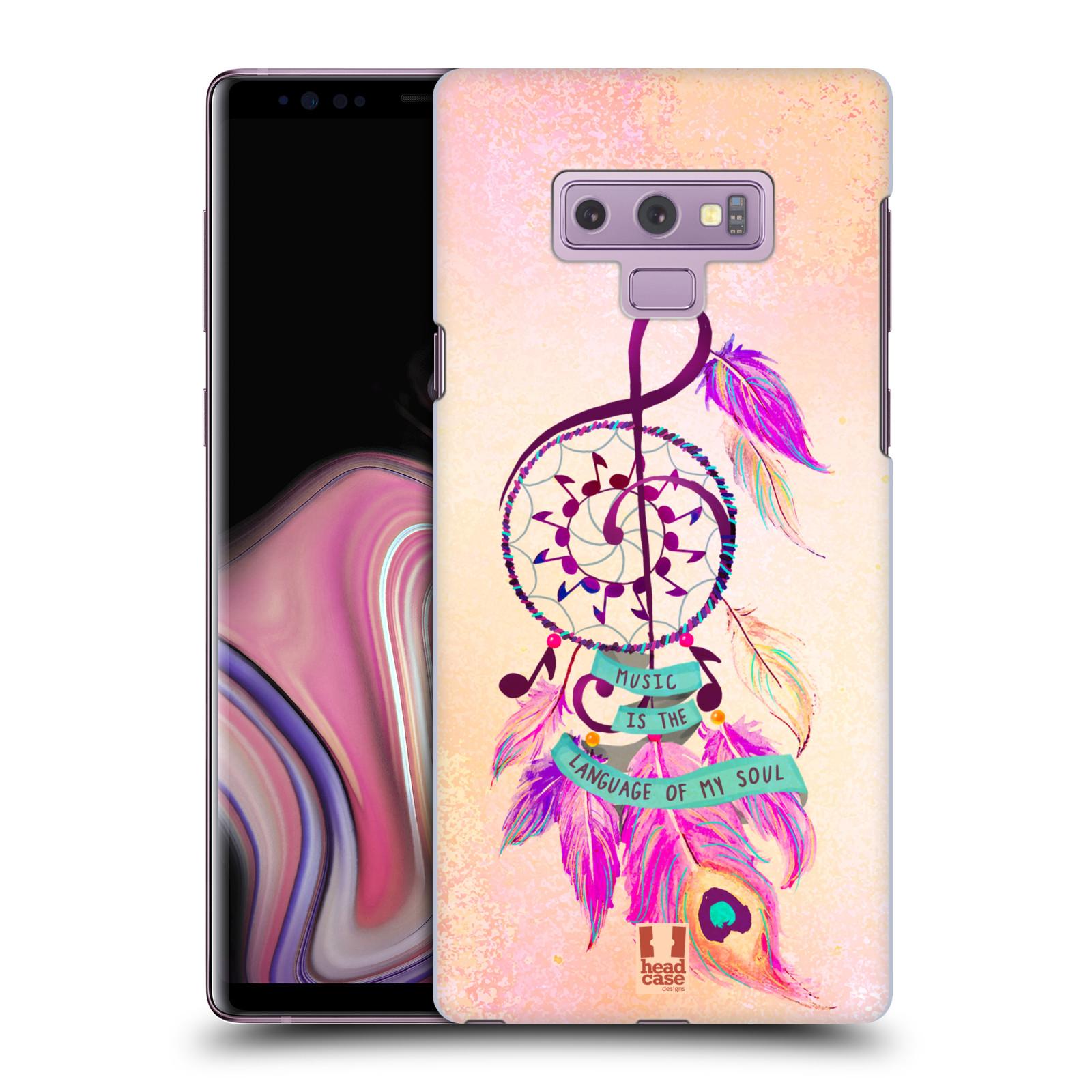 Plastové pouzdro na mobil Samsung Galaxy Note 9 - Head Case - Lapač Assorted Music