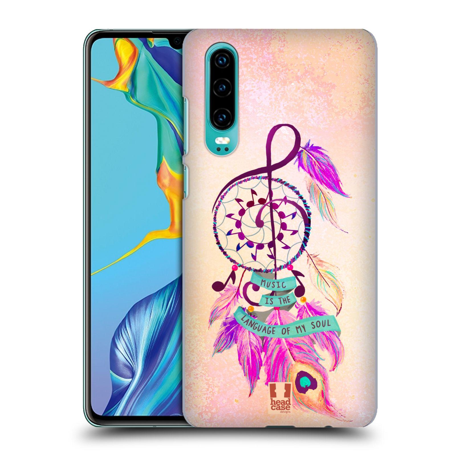 Plastové pouzdro na mobil Huawei P30 - Head Case - Lapač Assorted Music