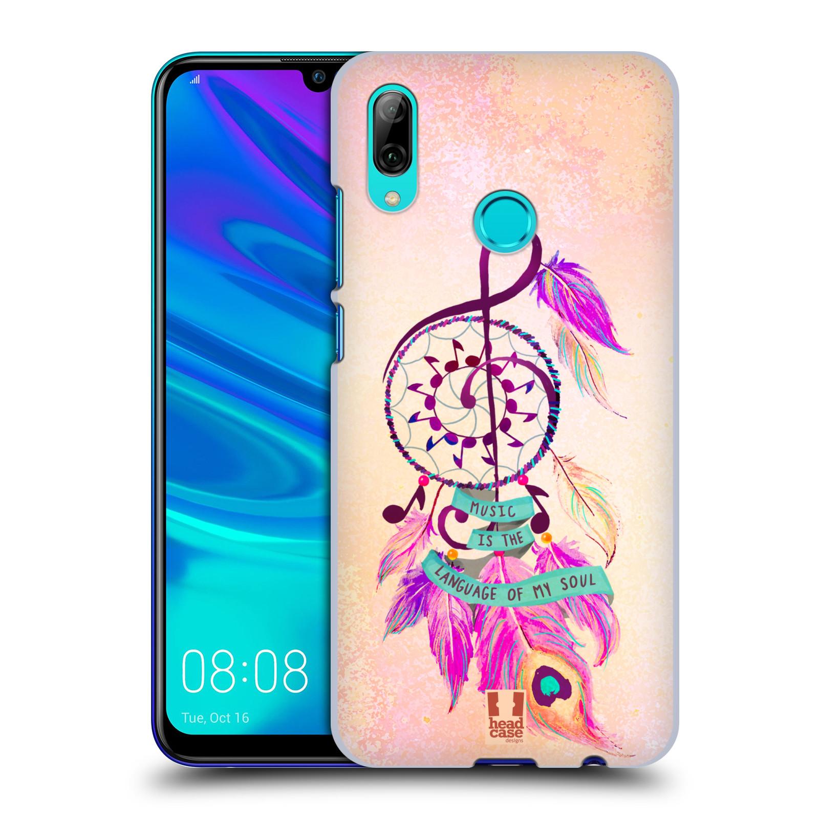 Plastové pouzdro na mobil Honor 10 Lite - Head Case - Lapač Assorted Music