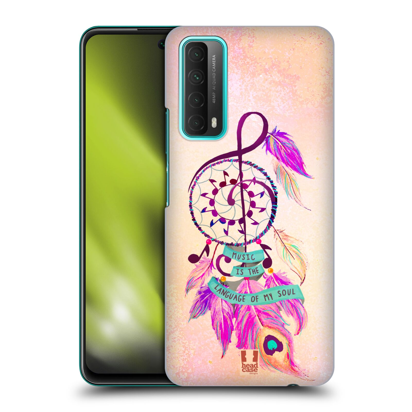 Plastové pouzdro na mobil Huawei P Smart (2021) - Head Case - Lapač Assorted Music