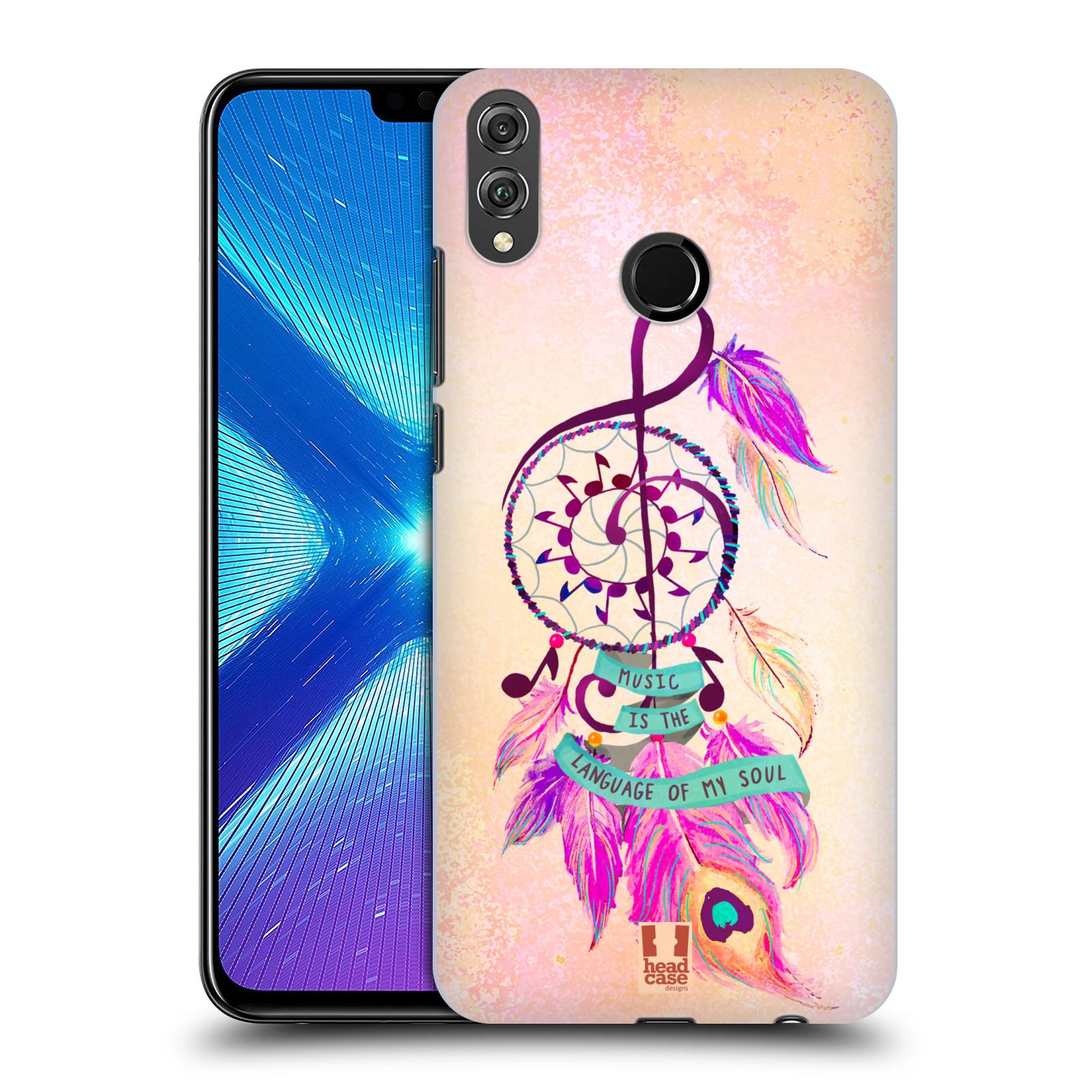 Plastové pouzdro na mobil Honor 8X - Head Case - Lapač Assorted Music