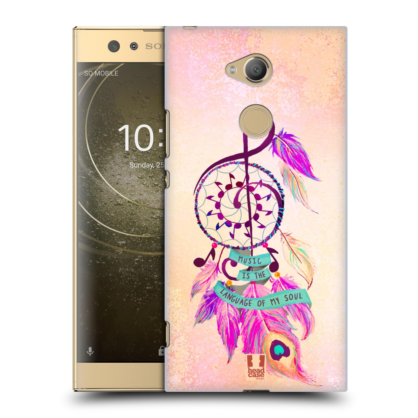 Plastové pouzdro na mobil Sony Xperia XA2 Ultra - Head Case - Lapač Assorted Music