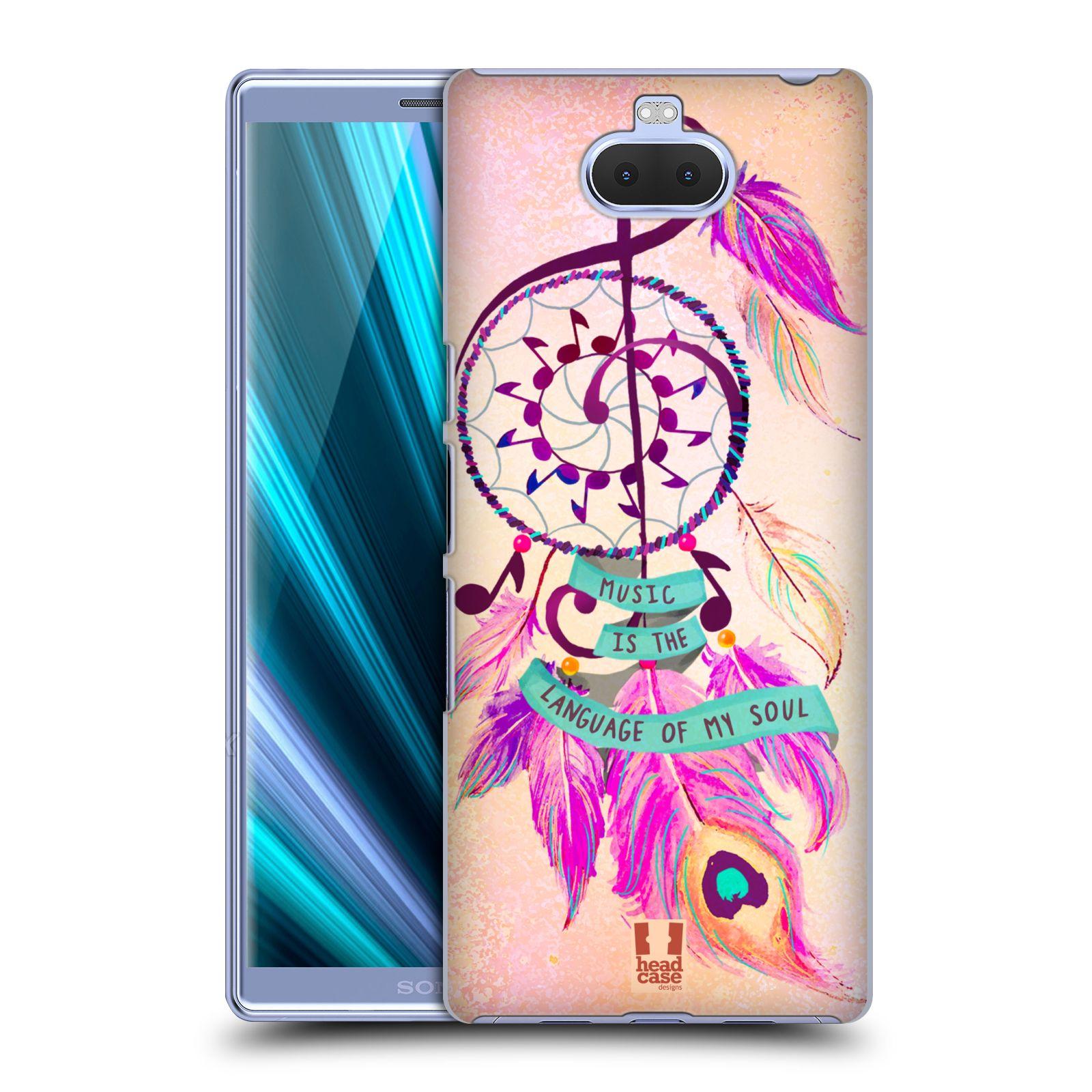 Plastové pouzdro na mobil Sony Xperia 10 - Head Case - Lapač Assorted Music