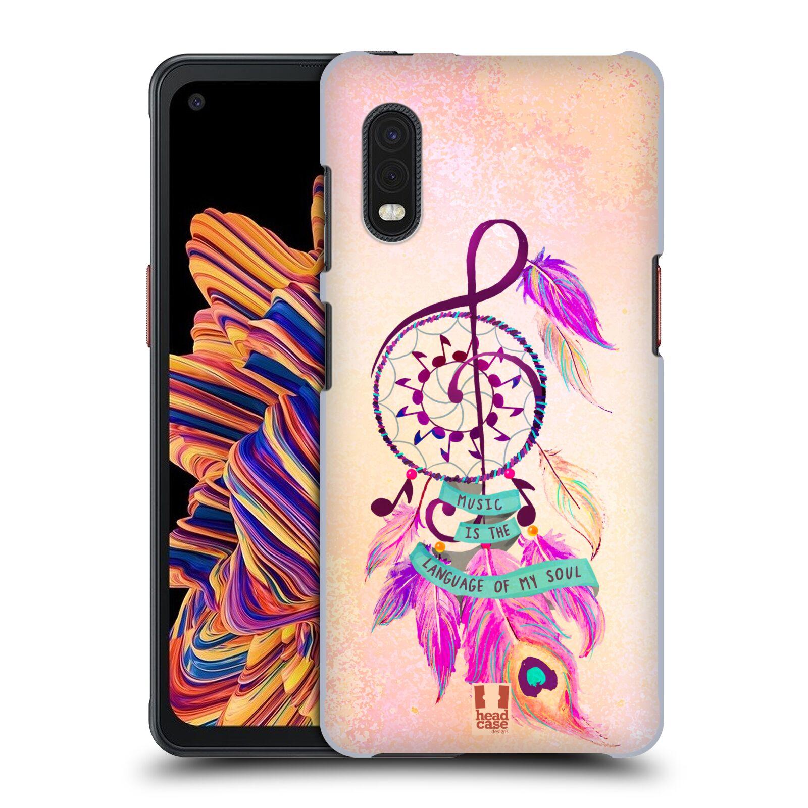 Plastové pouzdro na mobil Samsung Galaxy Xcover Pro - Head Case - Lapač Assorted Music