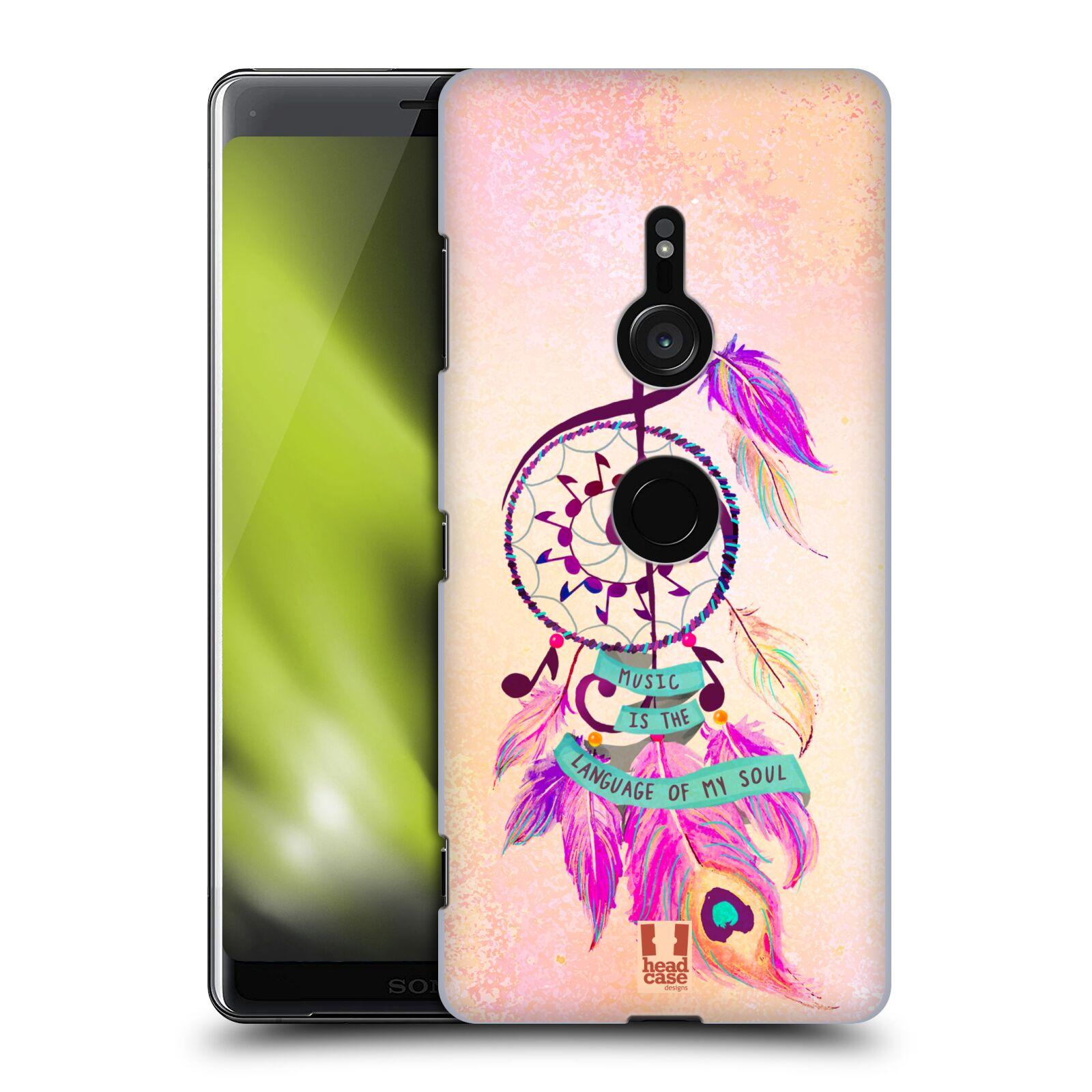 Plastové pouzdro na mobil Sony Xperia XZ3 - Head Case - Lapač Assorted Music