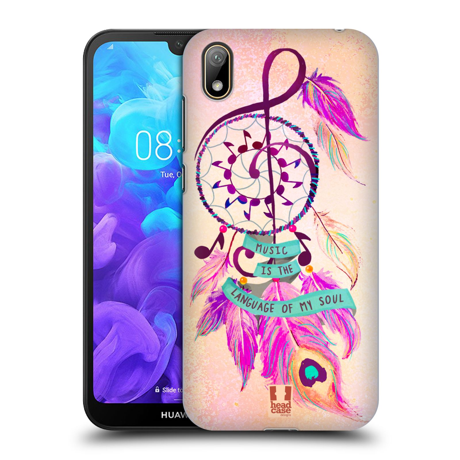 Plastové pouzdro na mobil Honor 8S - Head Case - Lapač Assorted Music