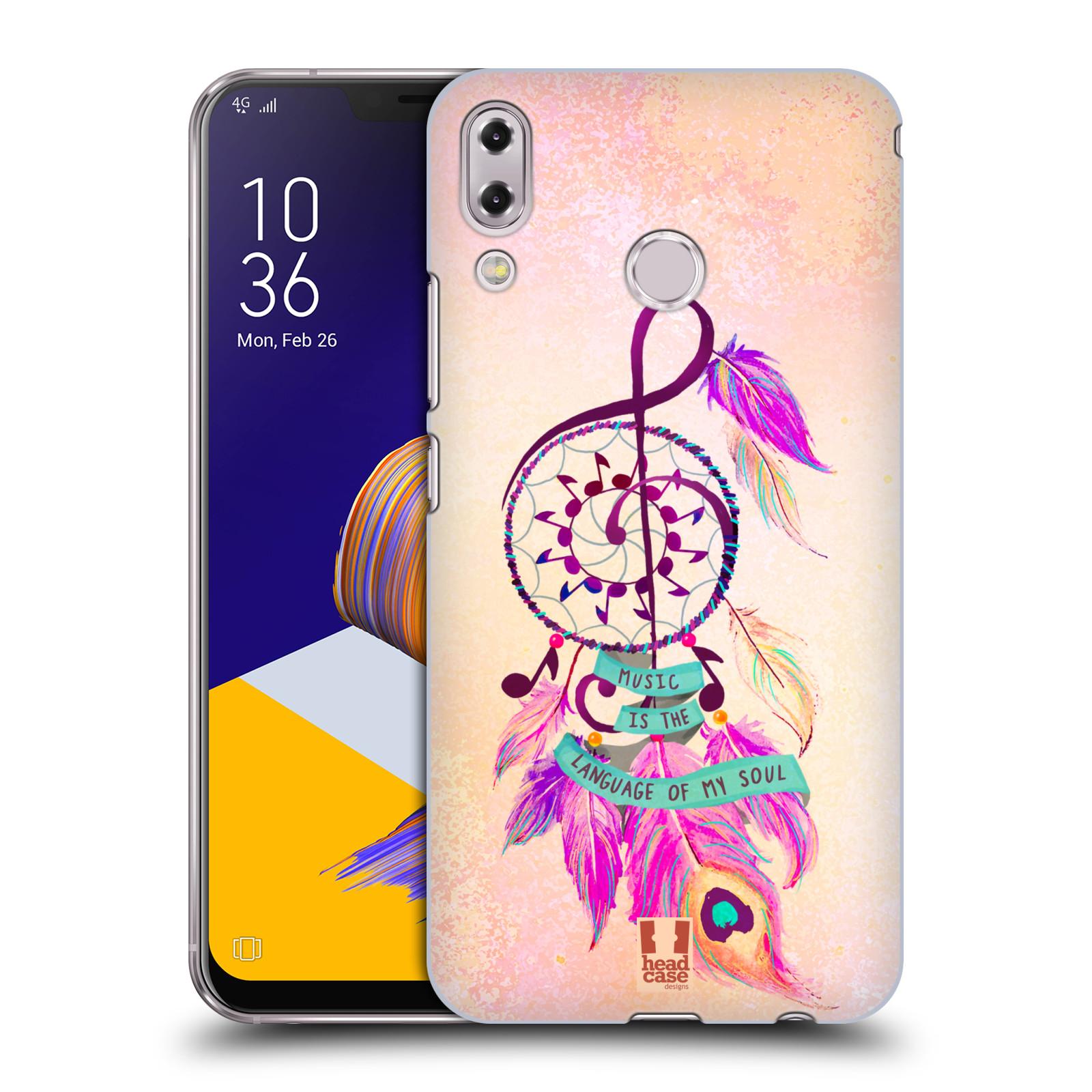 Plastové pouzdro na mobil Asus Zenfone 5z ZS620KL - Head Case - Lapač Assorted Music
