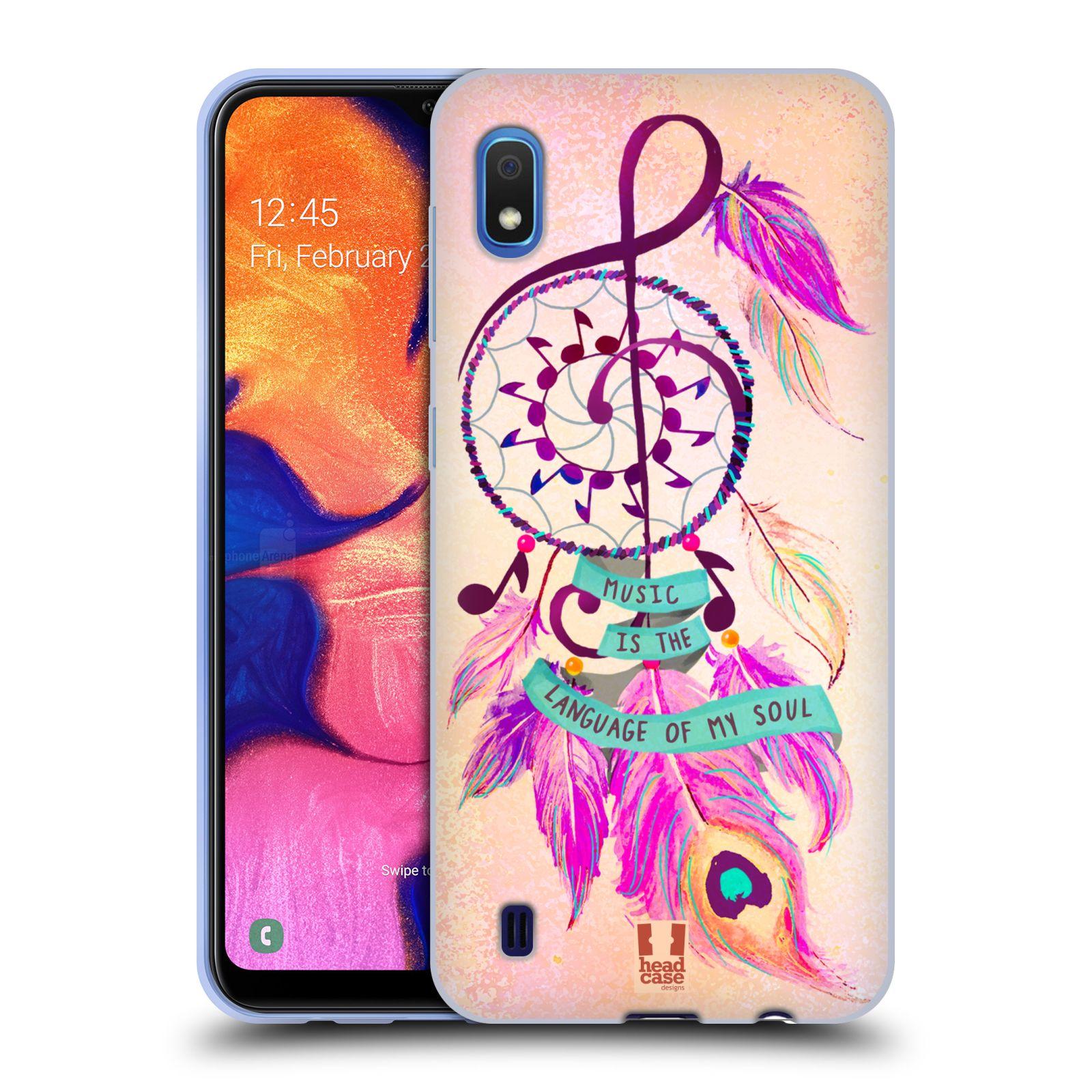 Silikonové pouzdro na mobil Samsung Galaxy A10 - Head Case - Lapač Assorted Music
