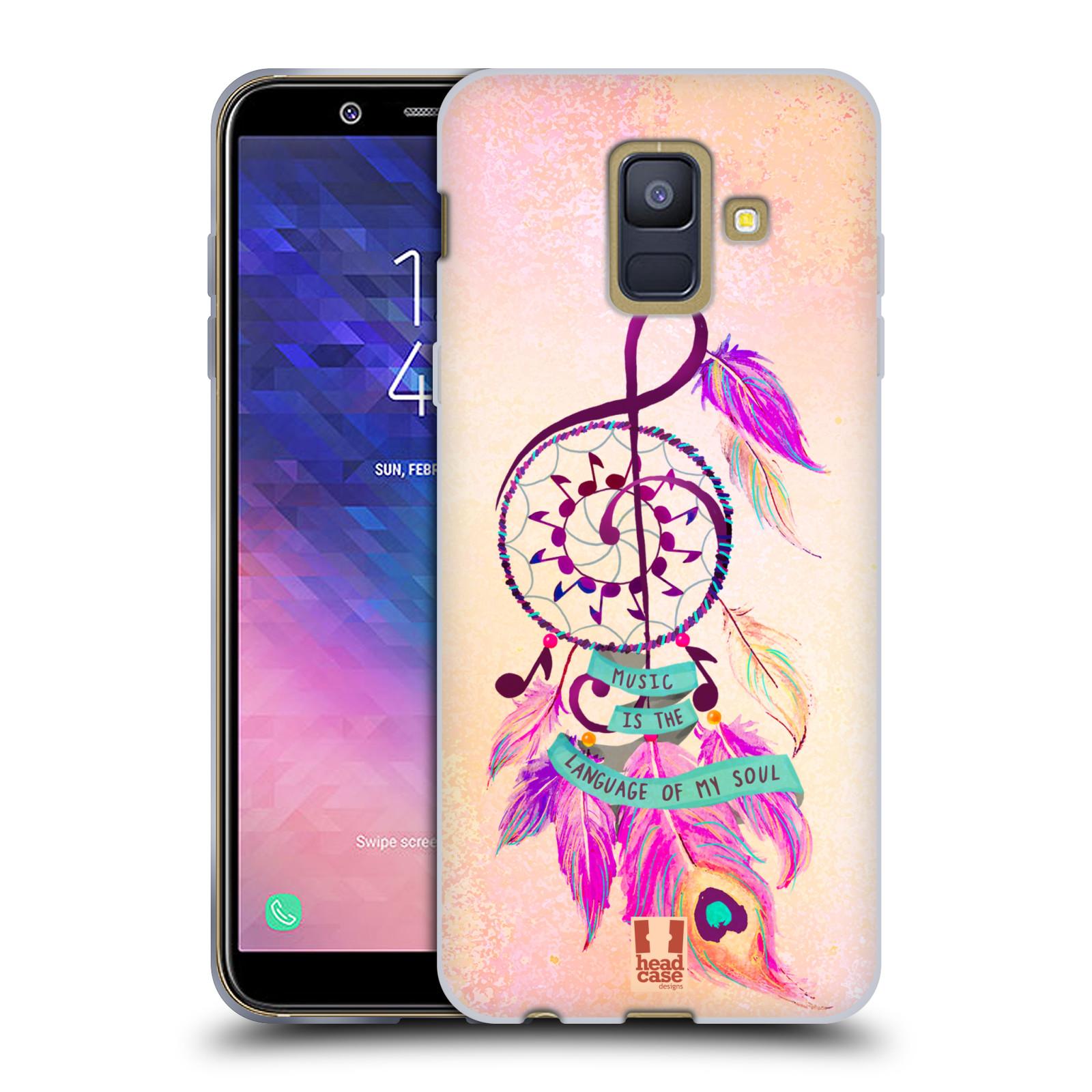 Silikonové pouzdro na mobil Samsung Galaxy A6 (2018) - Head Case - Lapač Assorted Music