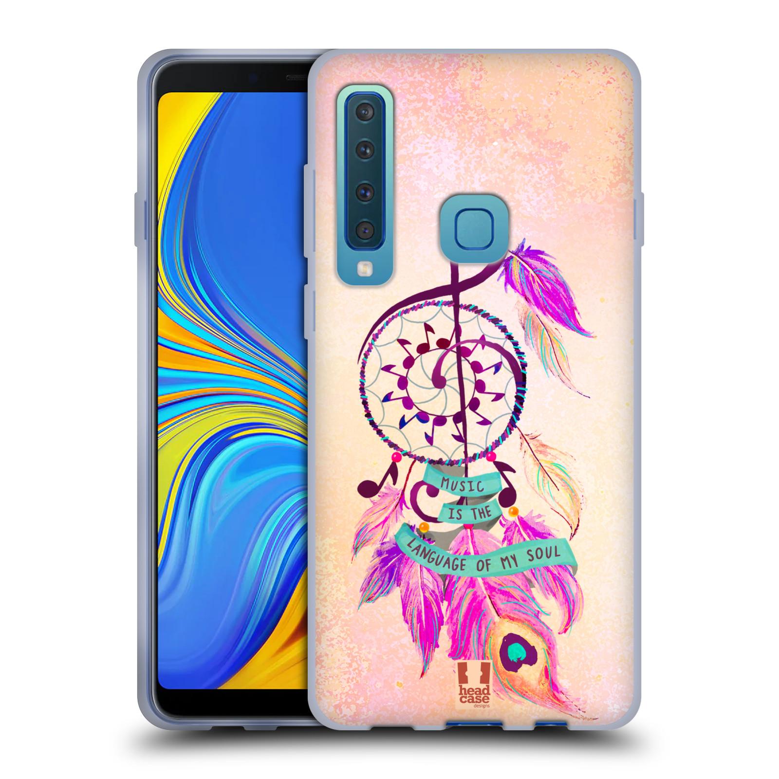 Silikonové pouzdro na mobil Samsung Galaxy A9 (2018) - Head Case - Lapač Assorted Music