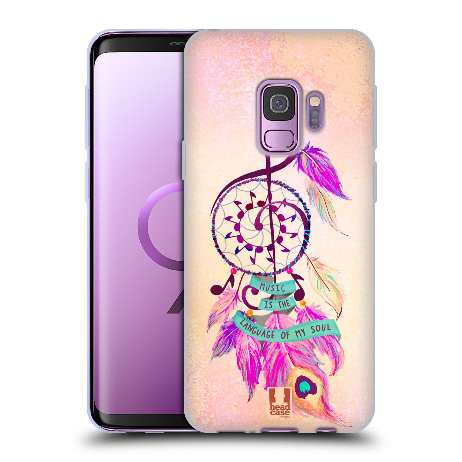 Silikonové pouzdro na mobil Samsung Galaxy S9 - Head Case - Lapač Assorted Music
