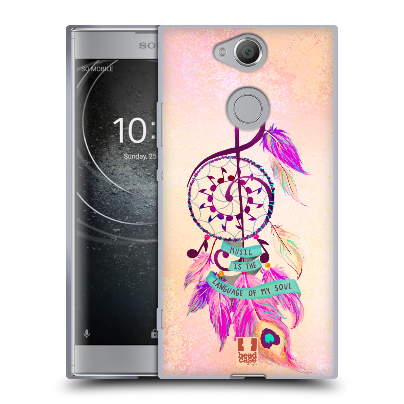 Silikonové pouzdro na mobil Sony Xperia XA2 - Head Case - Lapač Assorted Music
