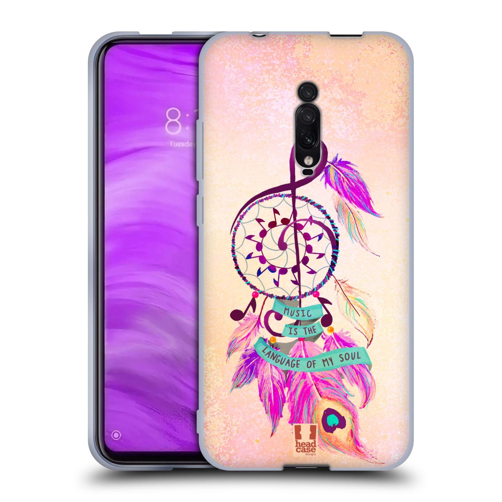Silikonové pouzdro na mobil Xiaomi Mi 9T - Head Case - Lapač Assorted Music