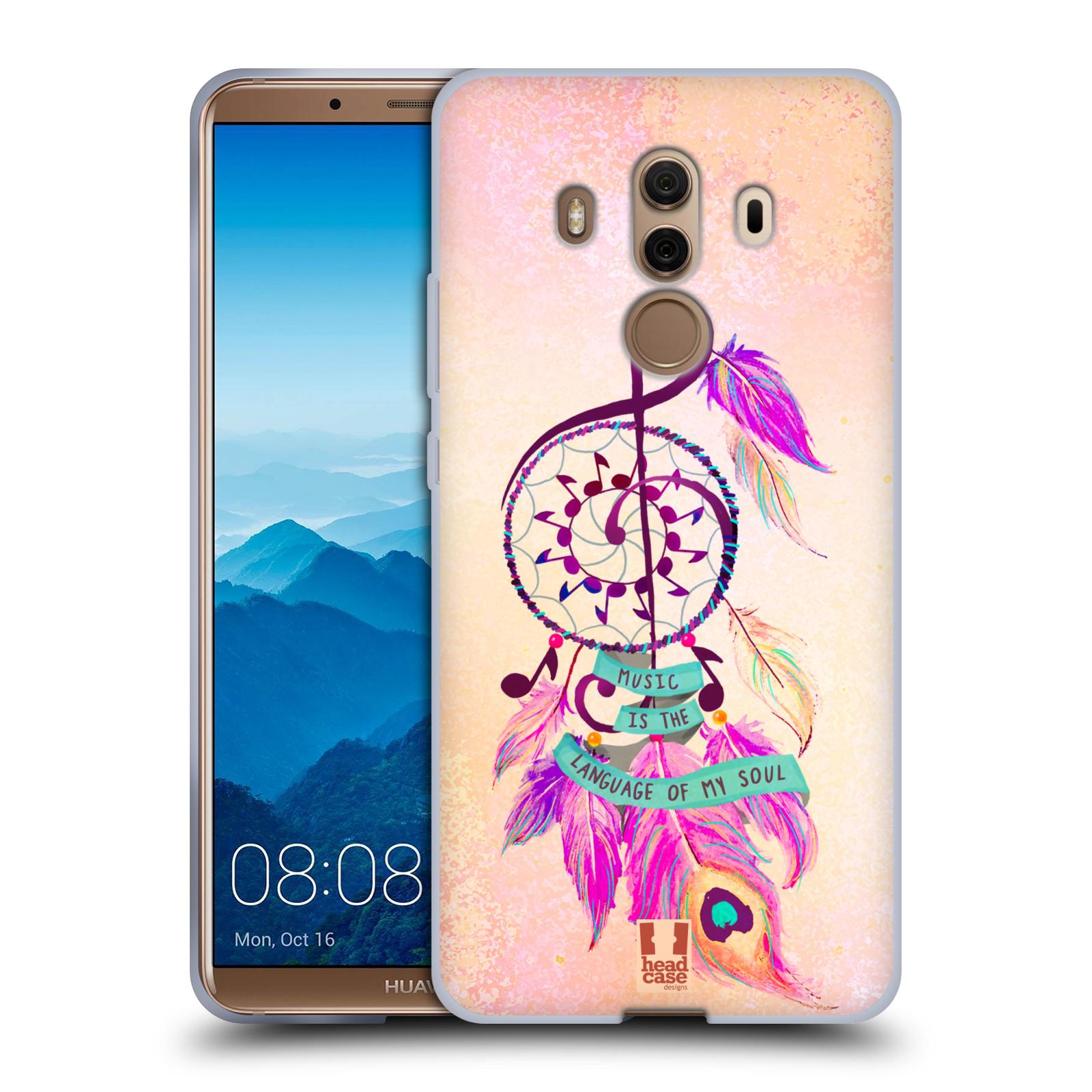 Silikonové pouzdro na mobil Huawei Mate 10 Pro - Head Case - Lapač Assorted Music
