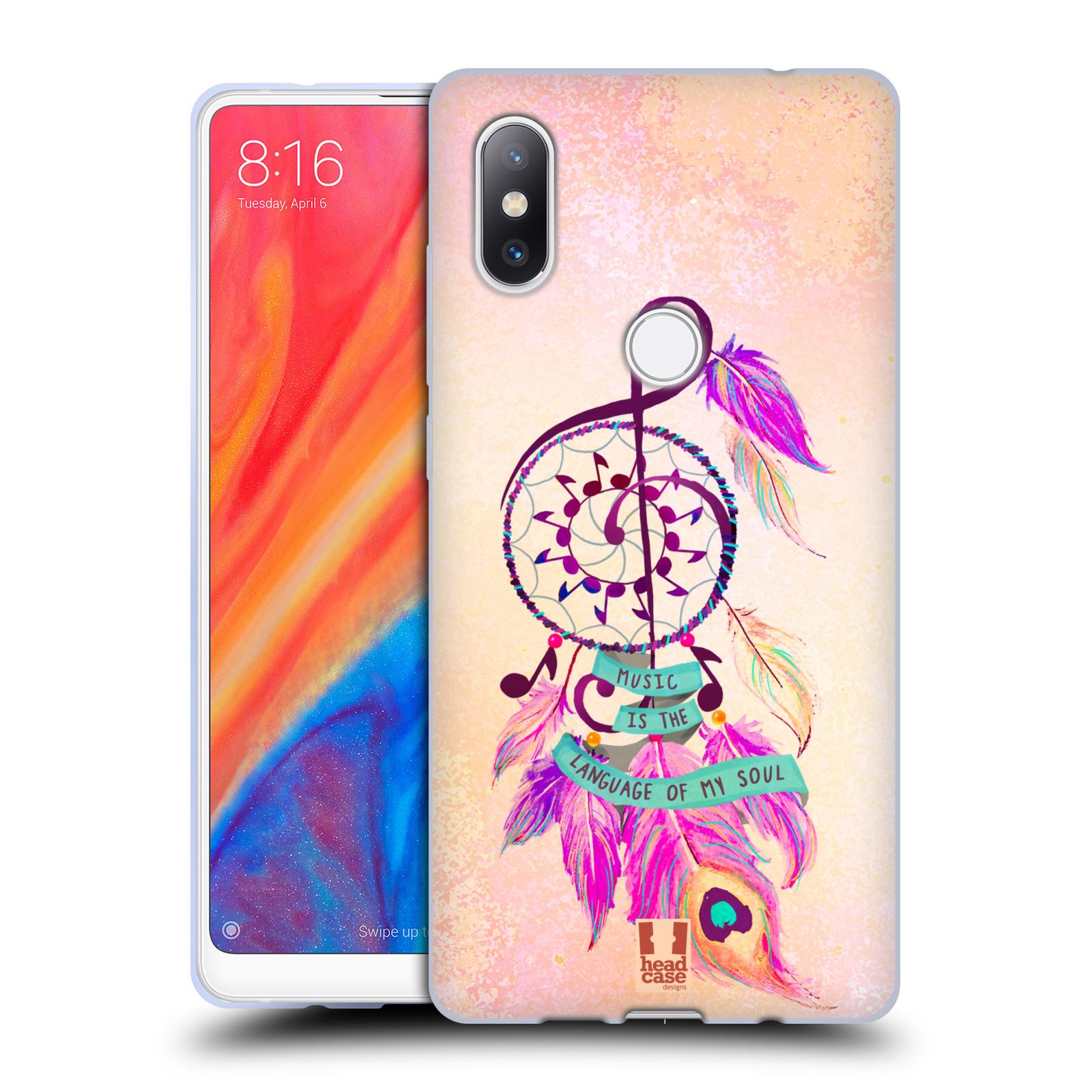 Silikonové pouzdro na mobil Xiaomi Mi Mix 2S - Head Case - Lapač Assorted Music