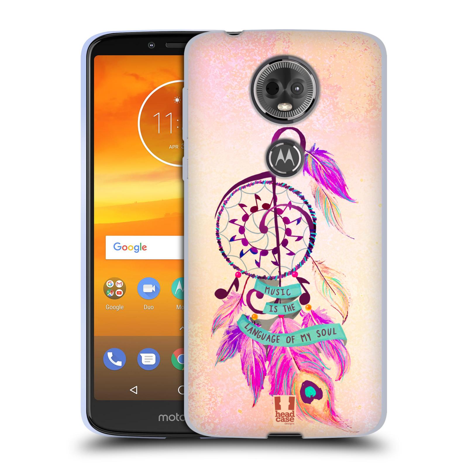 Silikonové pouzdro na mobil Motorola Moto E5 Plus - Head Case - Lapač Assorted Music