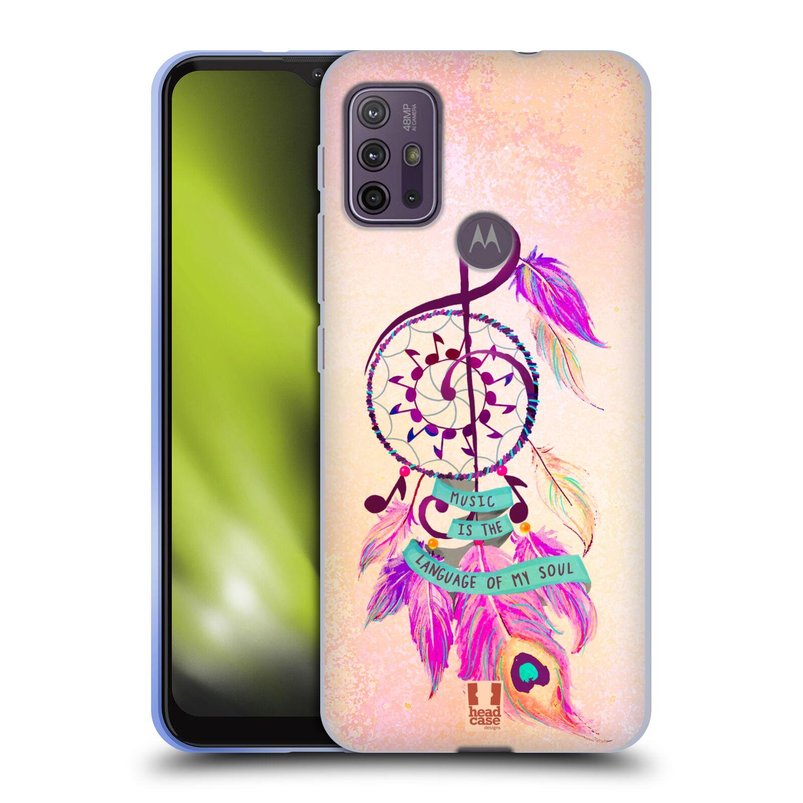 Silikonové pouzdro na mobil Motorola Moto G10 / G30 - Head Case - Lapač Assorted Music