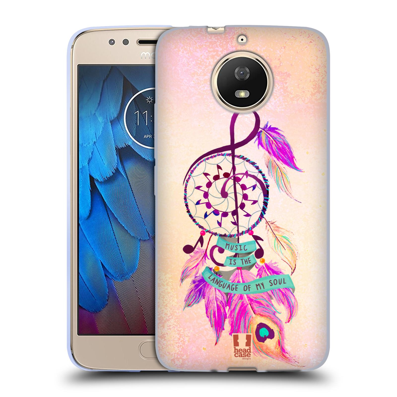 Silikonové pouzdro na mobil Lenovo Moto G5s - Head Case - Lapač Assorted Music