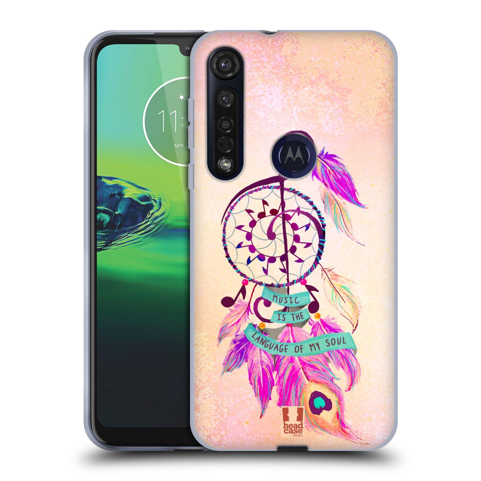 Silikonové pouzdro na mobil Motorola Moto G8 Plus - Head Case - Lapač Assorted Music