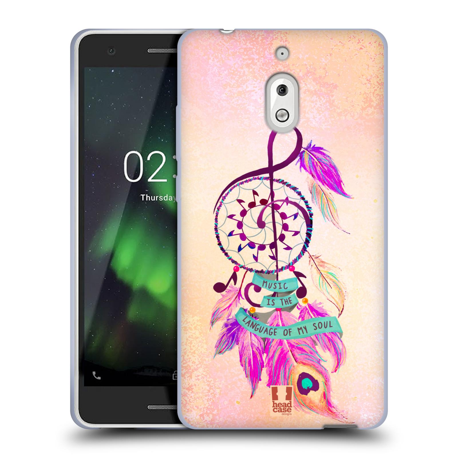Silikonové pouzdro na mobil Nokia 2.1 - Head Case - Lapač Assorted Music