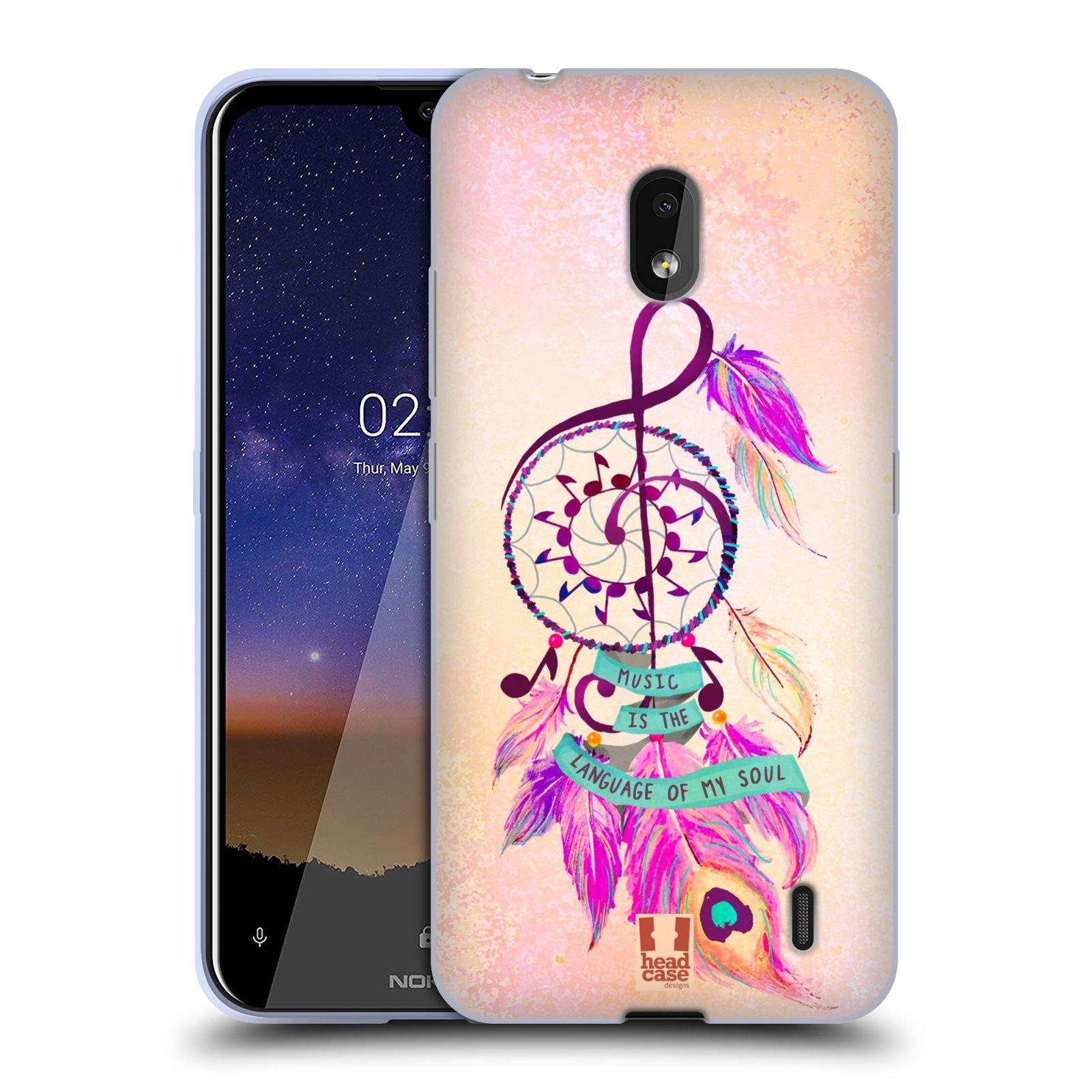 Silikonové pouzdro na mobil Nokia 2.2 - Head Case - Lapač Assorted Music