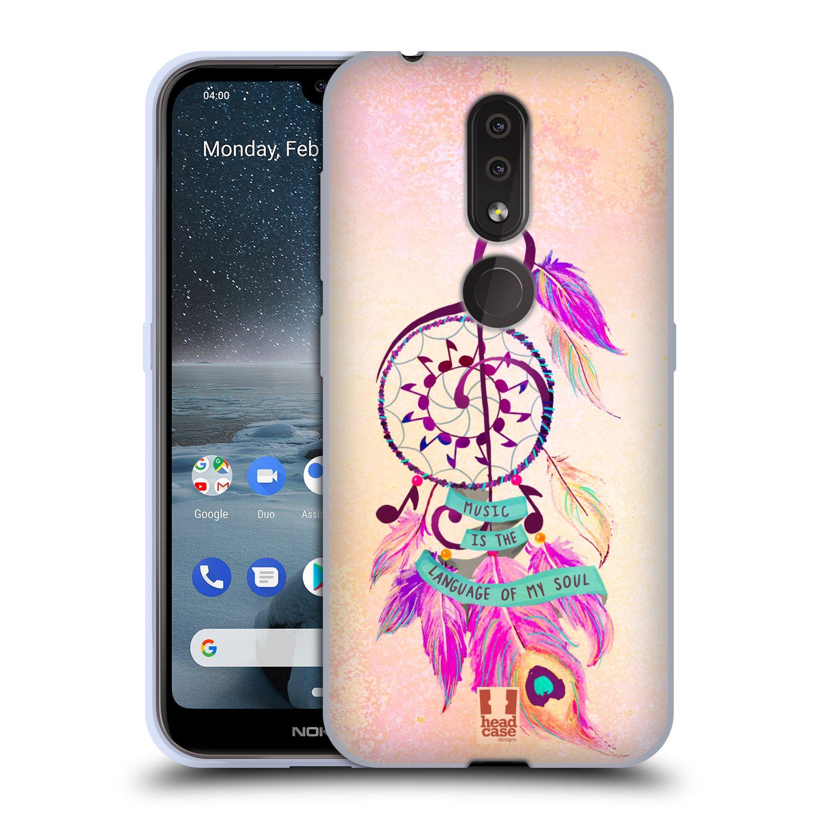 Silikonové pouzdro na mobil Nokia 4.2 - Head Case - Lapač Assorted Music