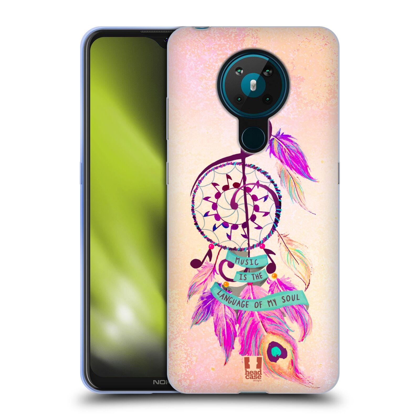 Silikonové pouzdro na mobil Nokia 5.3 - Head Case - Lapač Assorted Music