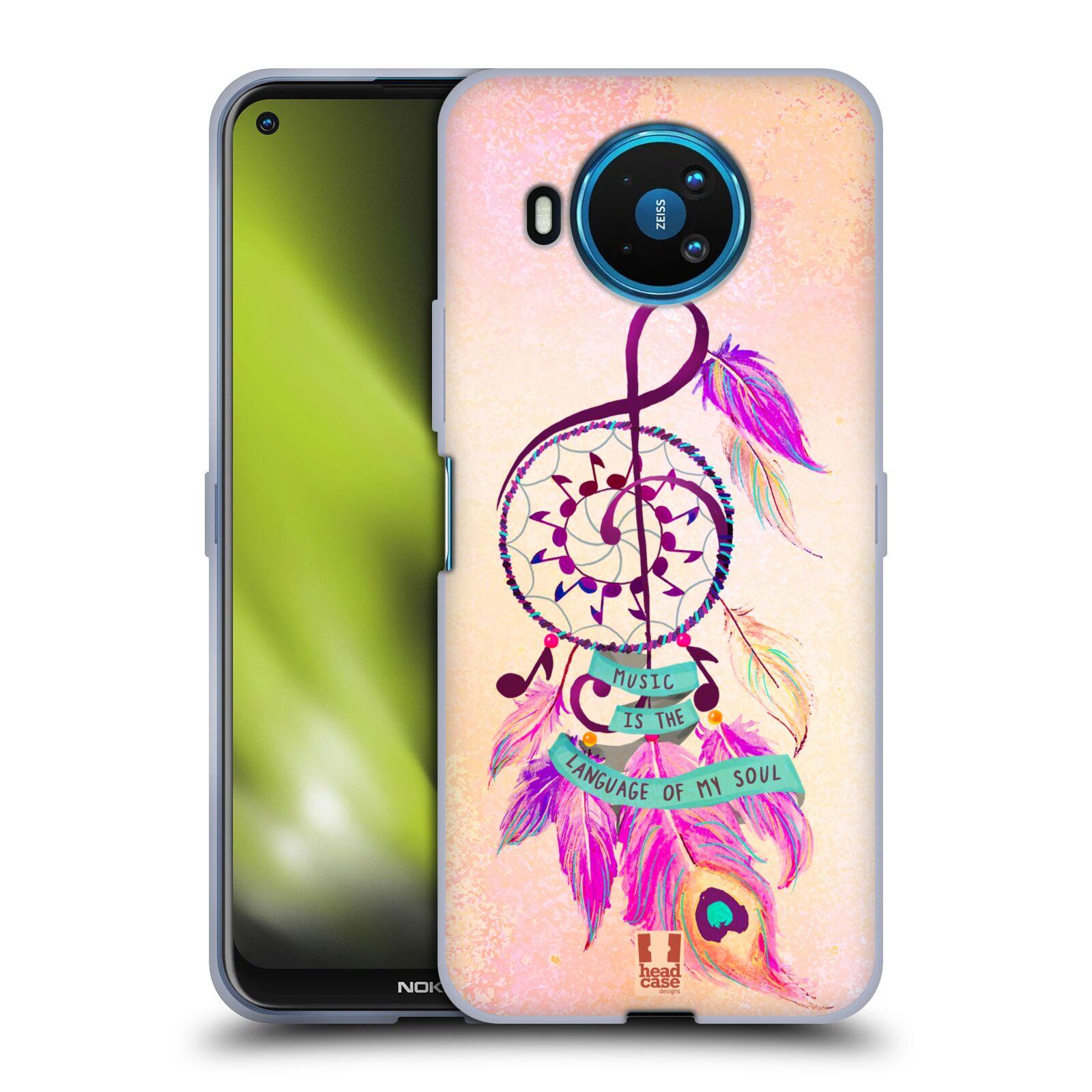 Silikonové pouzdro na mobil Nokia 8.3 5G - Head Case - Lapač Assorted Music