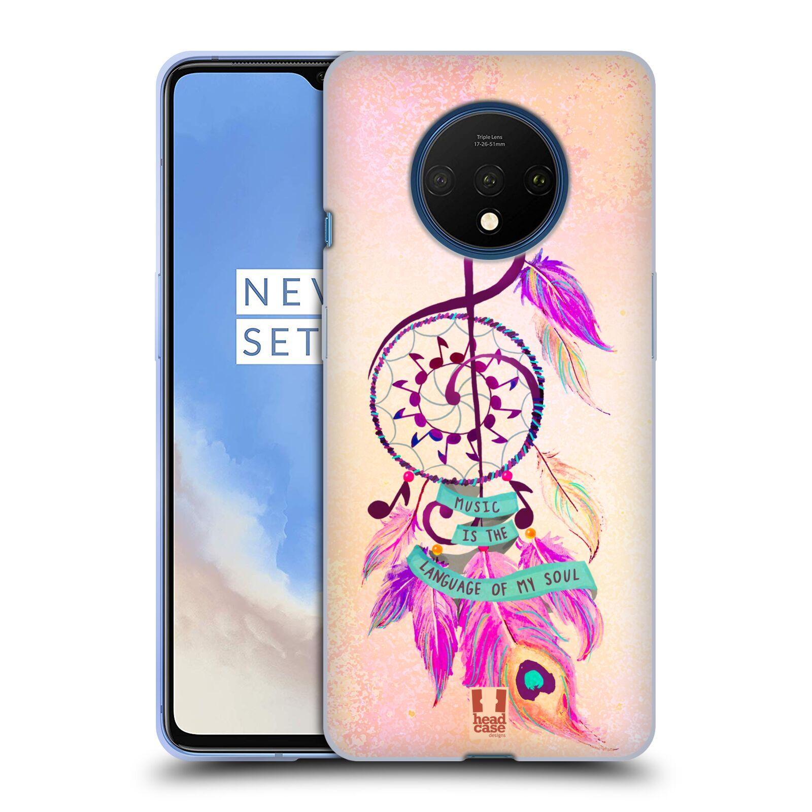 Silikonové pouzdro na mobil OnePlus 7T - Head Case - Lapač Assorted Music