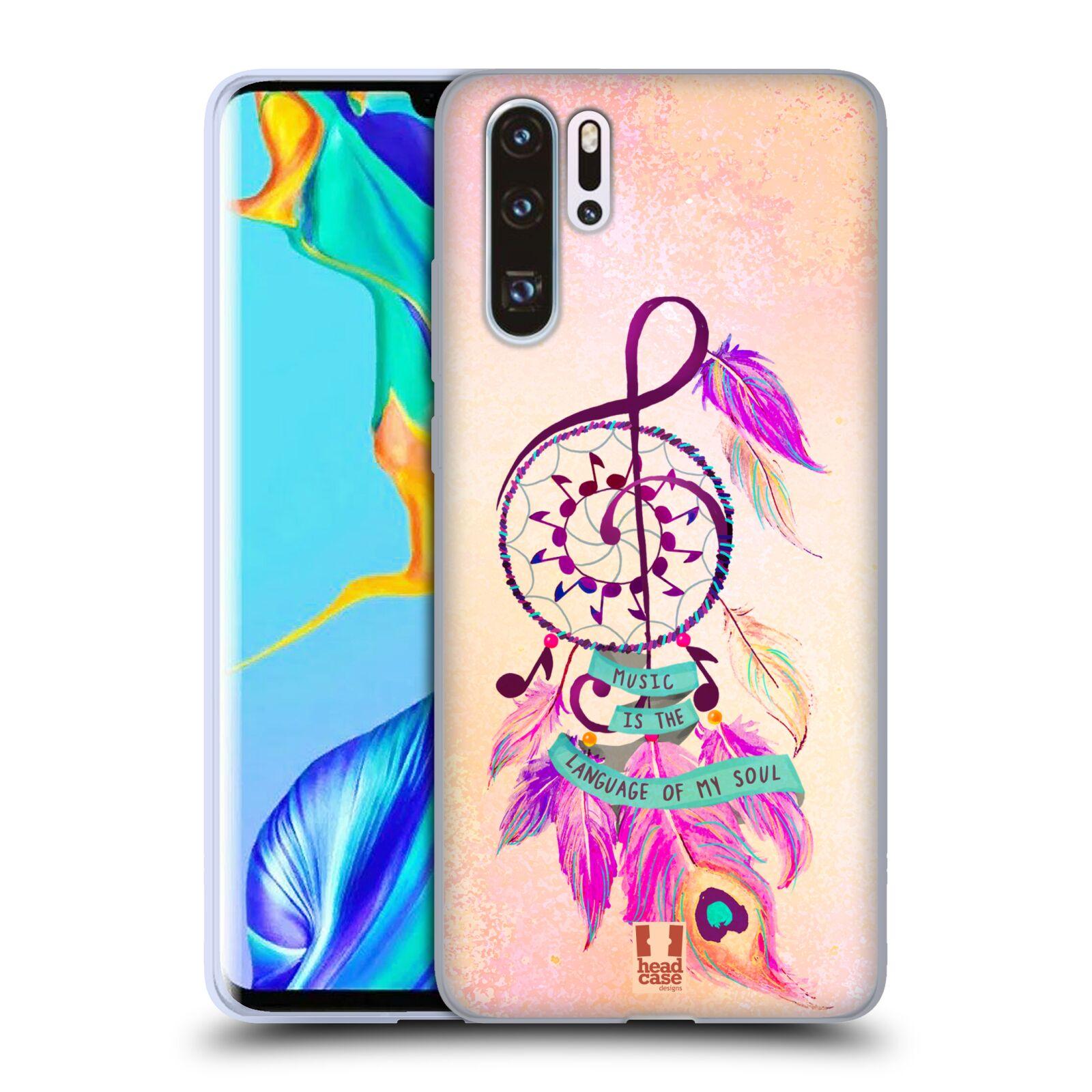 Silikonové pouzdro na mobil Huawei P30 Pro - Head Case - Lapač Assorted Music