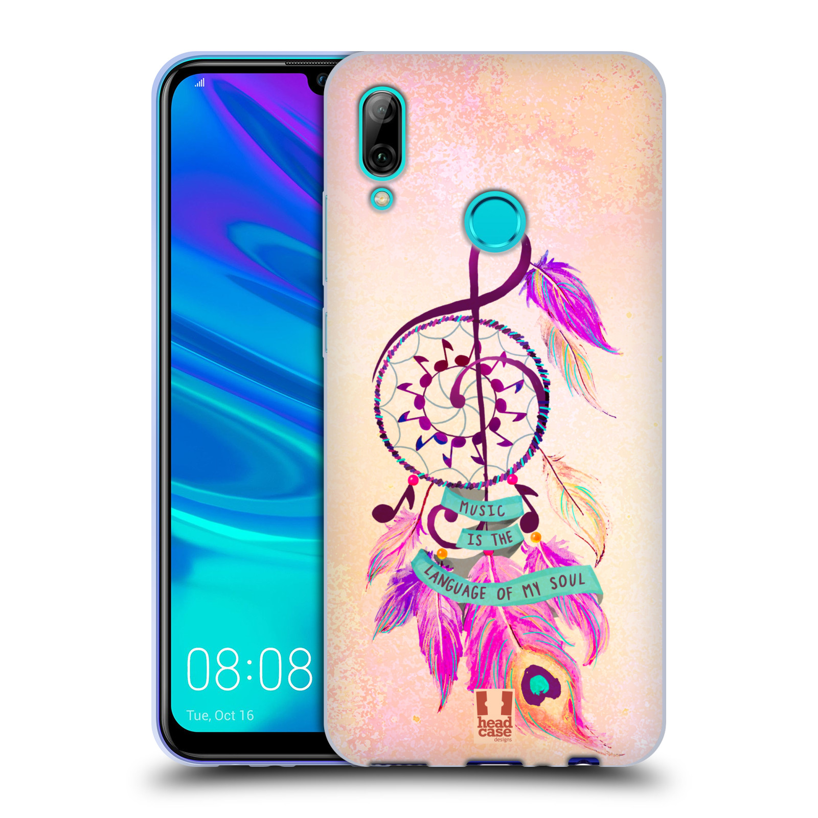 Silikonové pouzdro na mobil Huawei P Smart (2019) - Head Case - Lapač Assorted Music