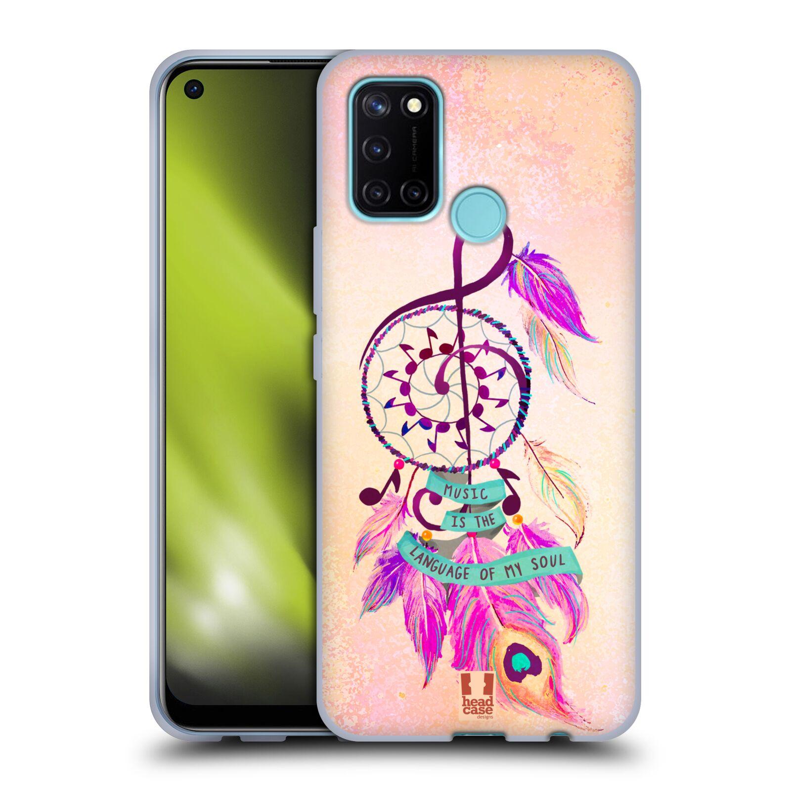 Silikonové pouzdro na mobil Realme 7i - Head Case - Lapač Assorted Music