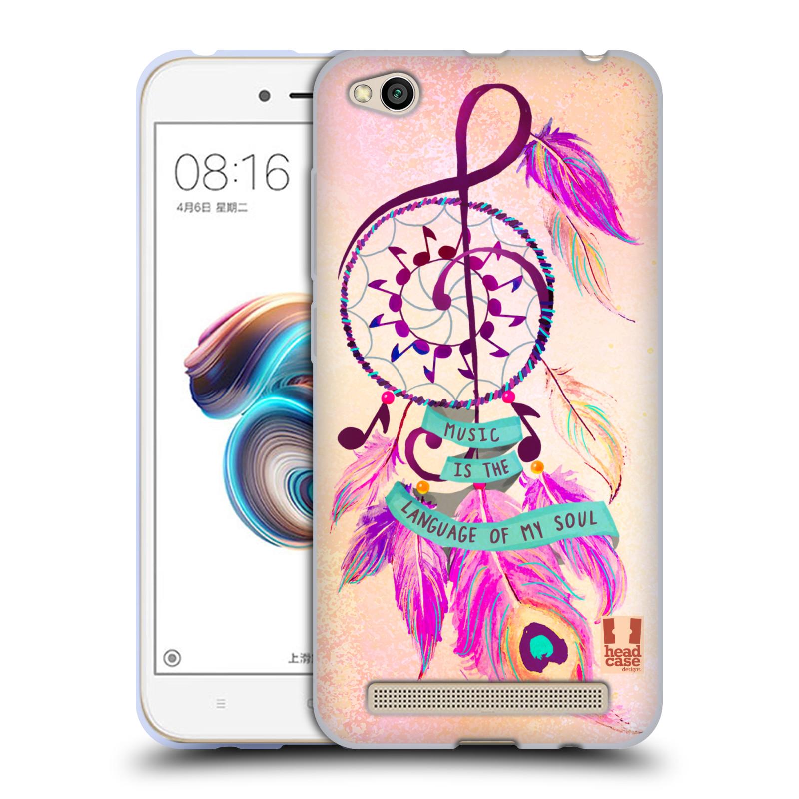 Silikonové pouzdro na mobil Xiaomi Redmi 5A - Head Case - Lapač Assorted Music