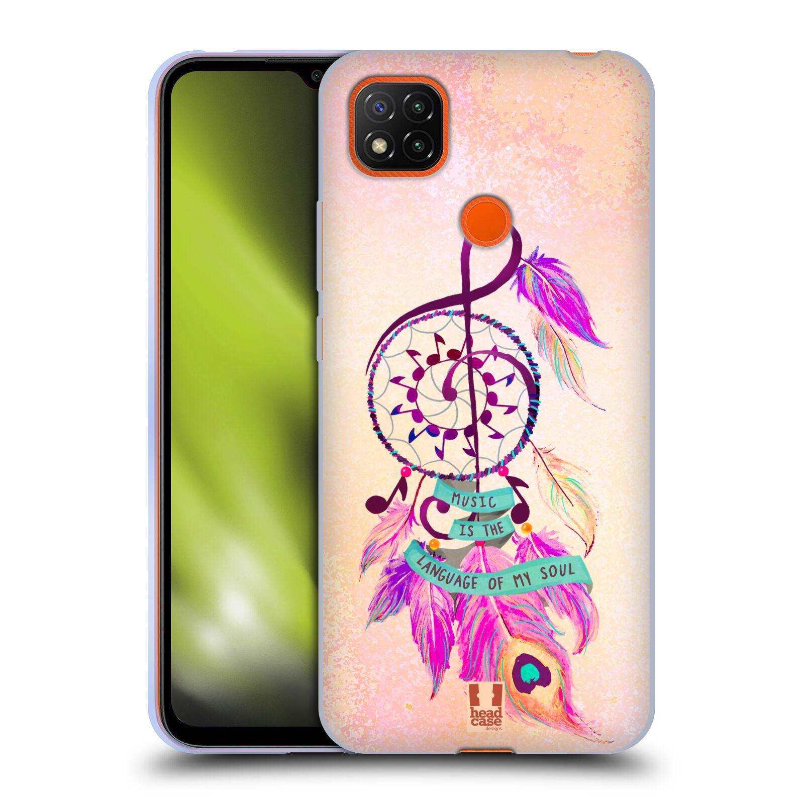 Silikonové pouzdro na mobil Xiaomi Redmi 9C - Head Case - Lapač Assorted Music