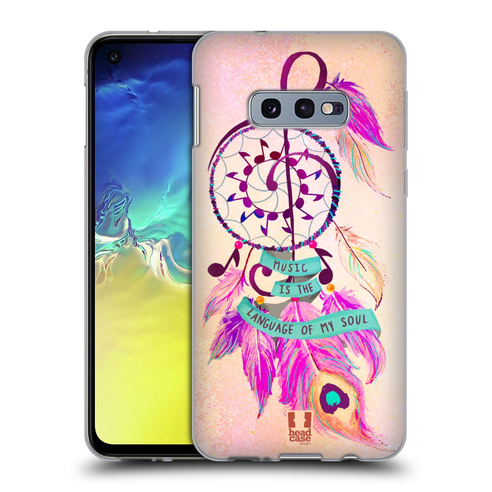Silikonové pouzdro na mobil Samsung Galaxy S10e - Head Case - Lapač Assorted Music