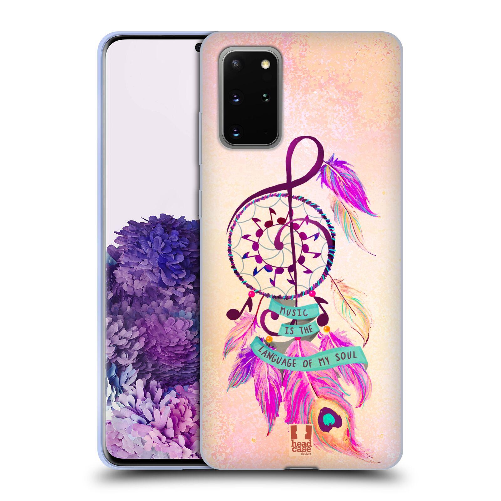 Silikonové pouzdro na mobil Samsung Galaxy S20 Plus - Head Case - Lapač Assorted Music