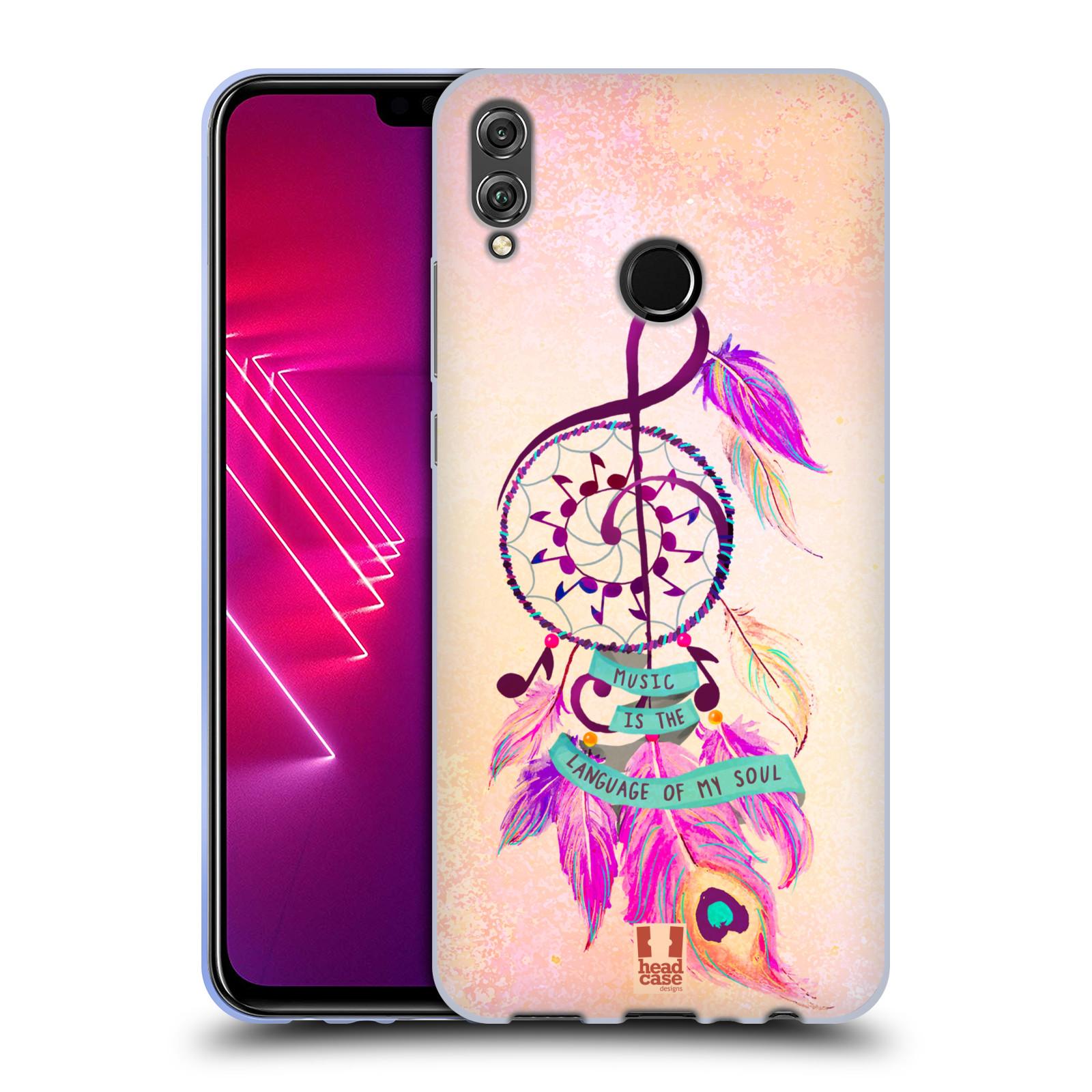 Silikonové pouzdro na mobil Honor 8X - Head Case - Lapač Assorted Music