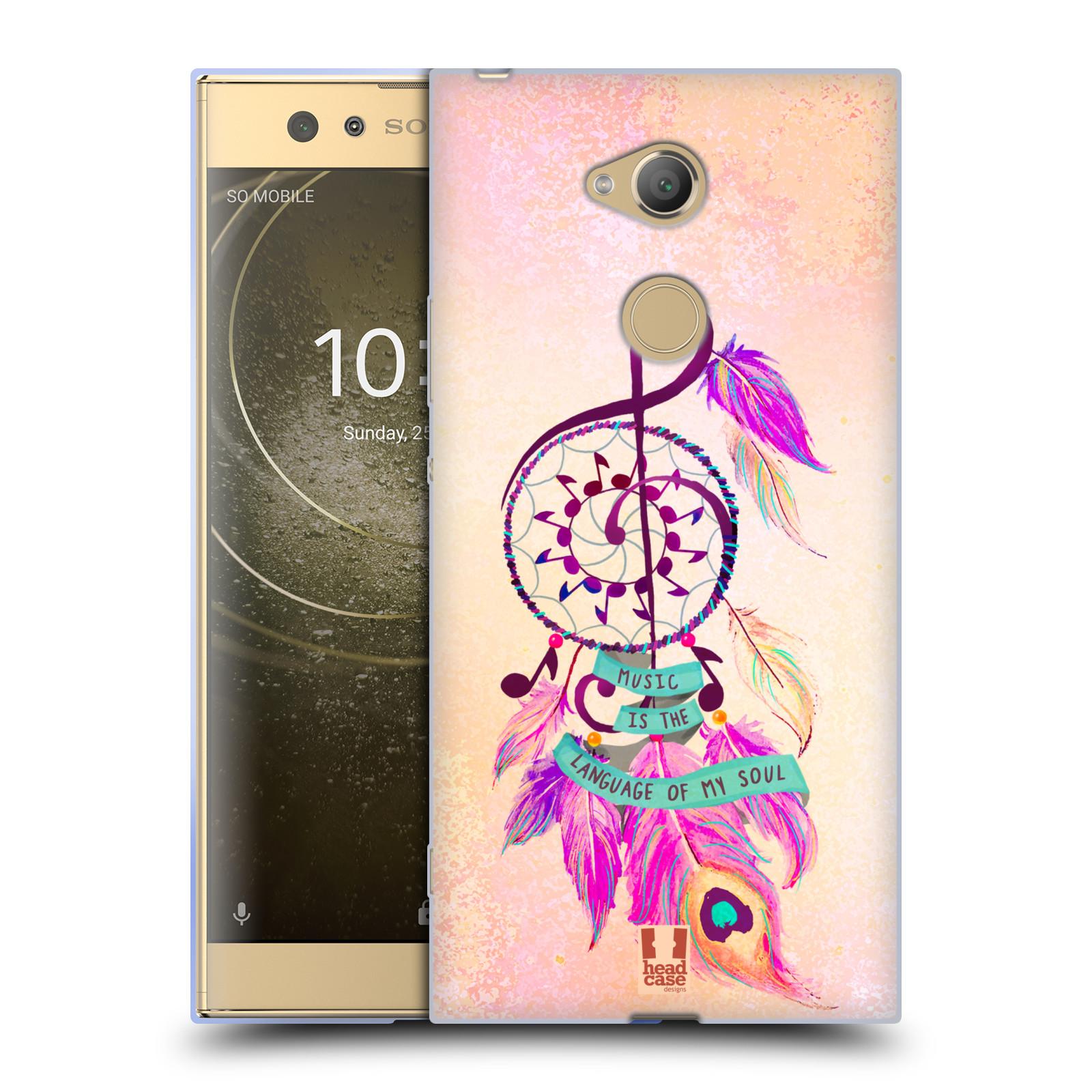 Silikonové pouzdro na mobil Sony Xperia XA2 Ultra - Head Case - Lapač Assorted Music