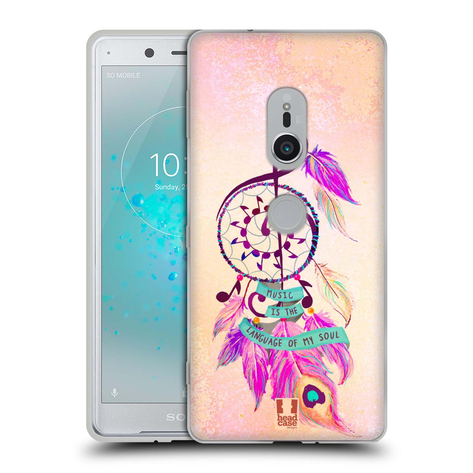 Silikonové pouzdro na mobil Sony Xperia XZ2 - Head Case - Lapač Assorted Music