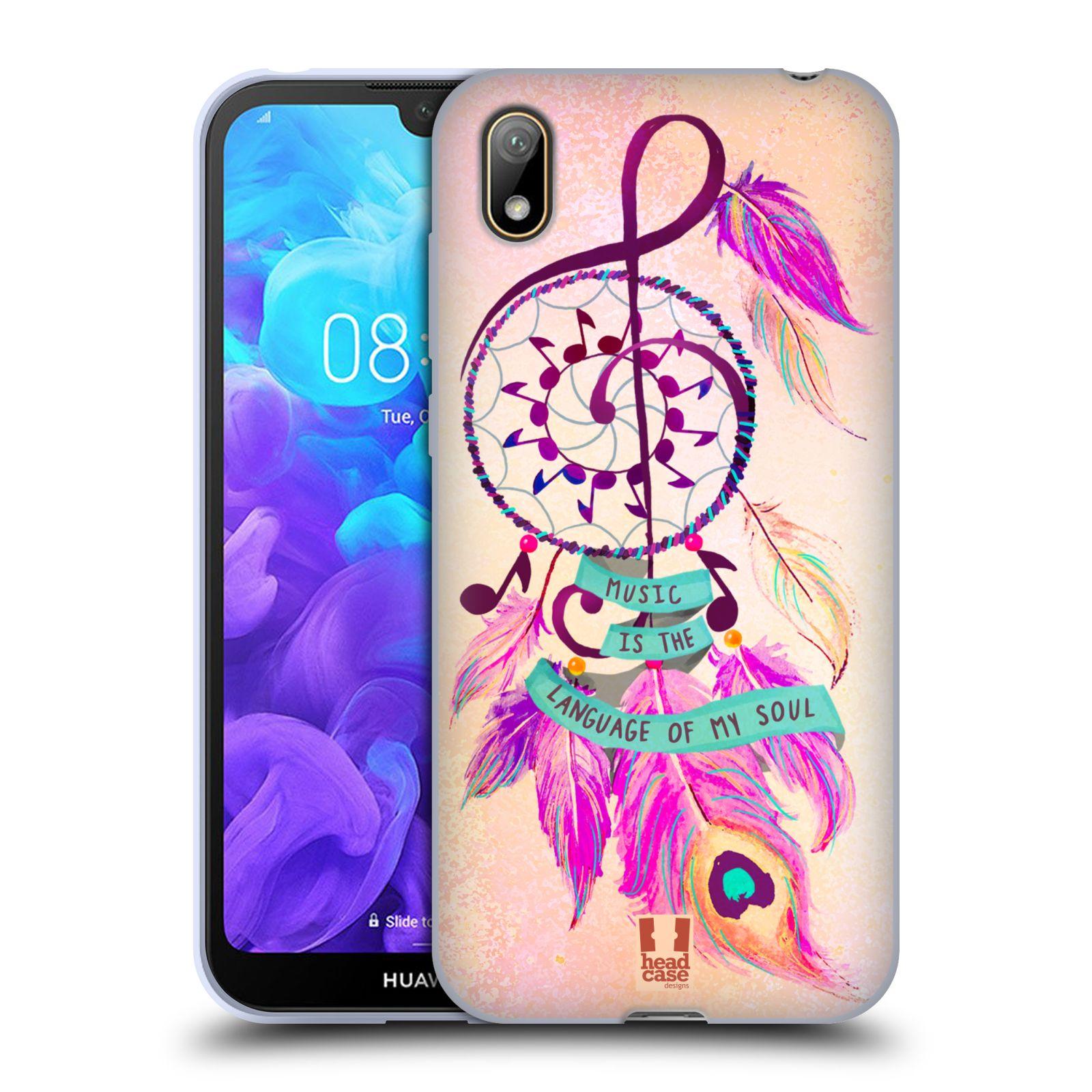 Silikonové pouzdro na mobil Huawei Y5 (2019) - Head Case - Lapač Assorted Music