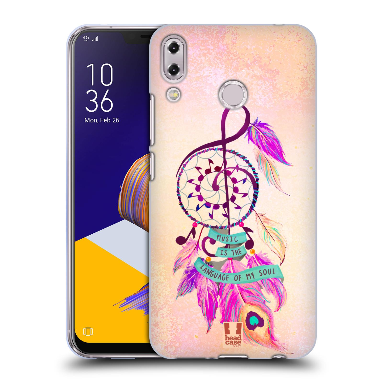 Silikonové pouzdro na mobil Asus ZenFone 5 ZE620KL - Head Case - Lapač Assorted Music