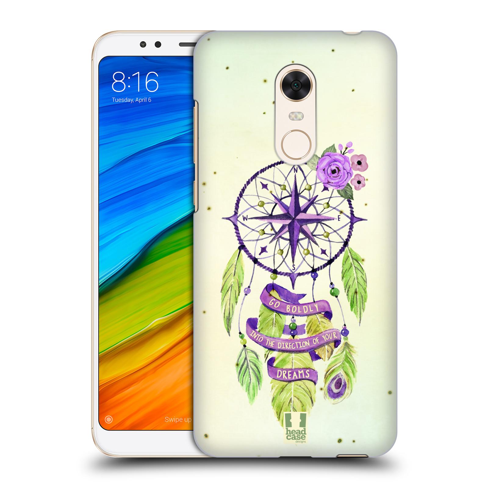 Plastové pouzdro na mobil Xiaomi Redmi 5 Plus - Head Case - Lapač Assorted Compass