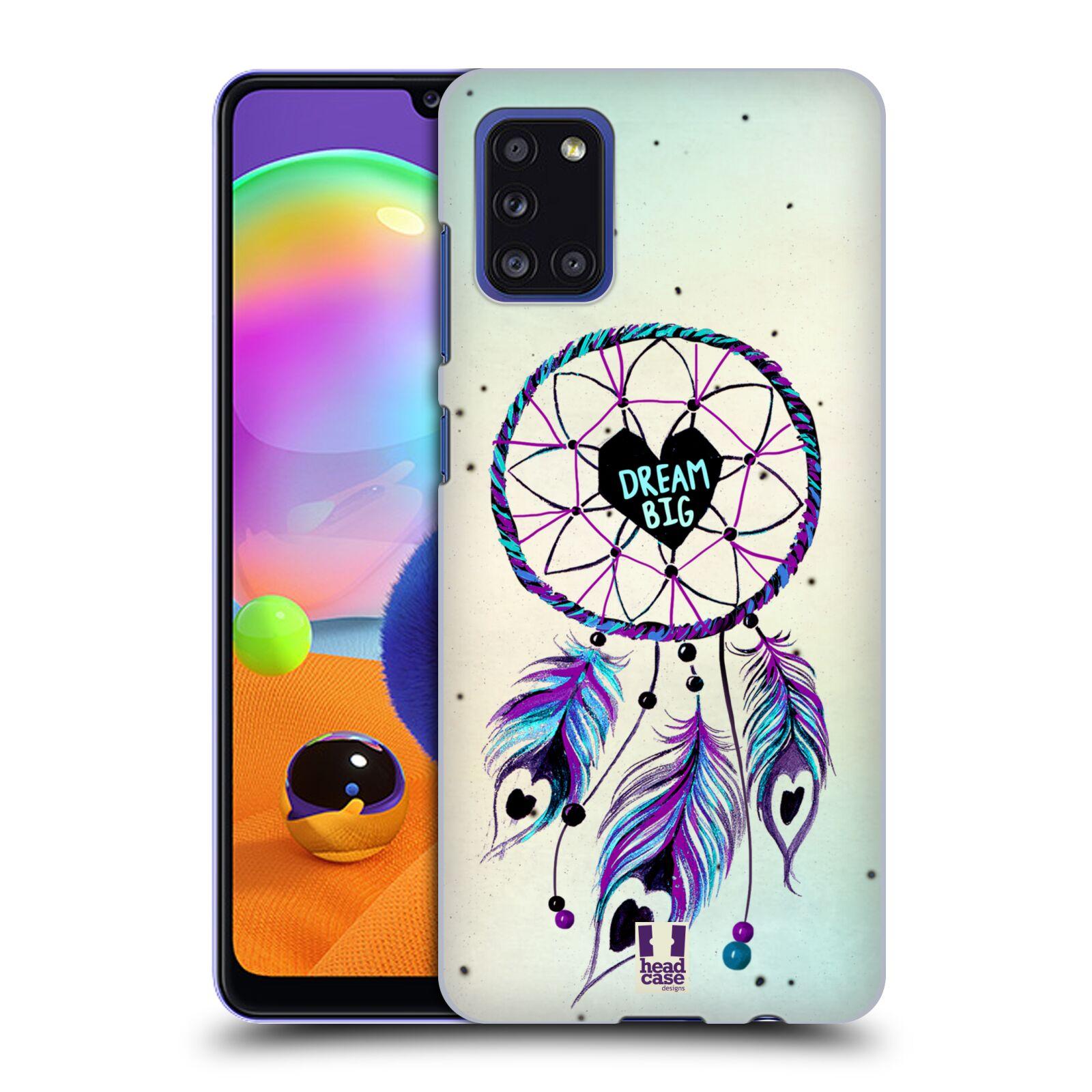 Plastové pouzdro na mobil Samsung Galaxy A31 - Head Case - Lapač Assorted Dream Big Srdce