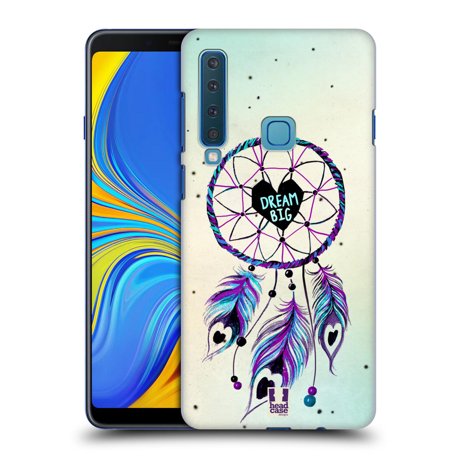 Plastové pouzdro na mobil Samsung Galaxy A9 (2018) - Head Case - Lapač Assorted Dream Big Srdce