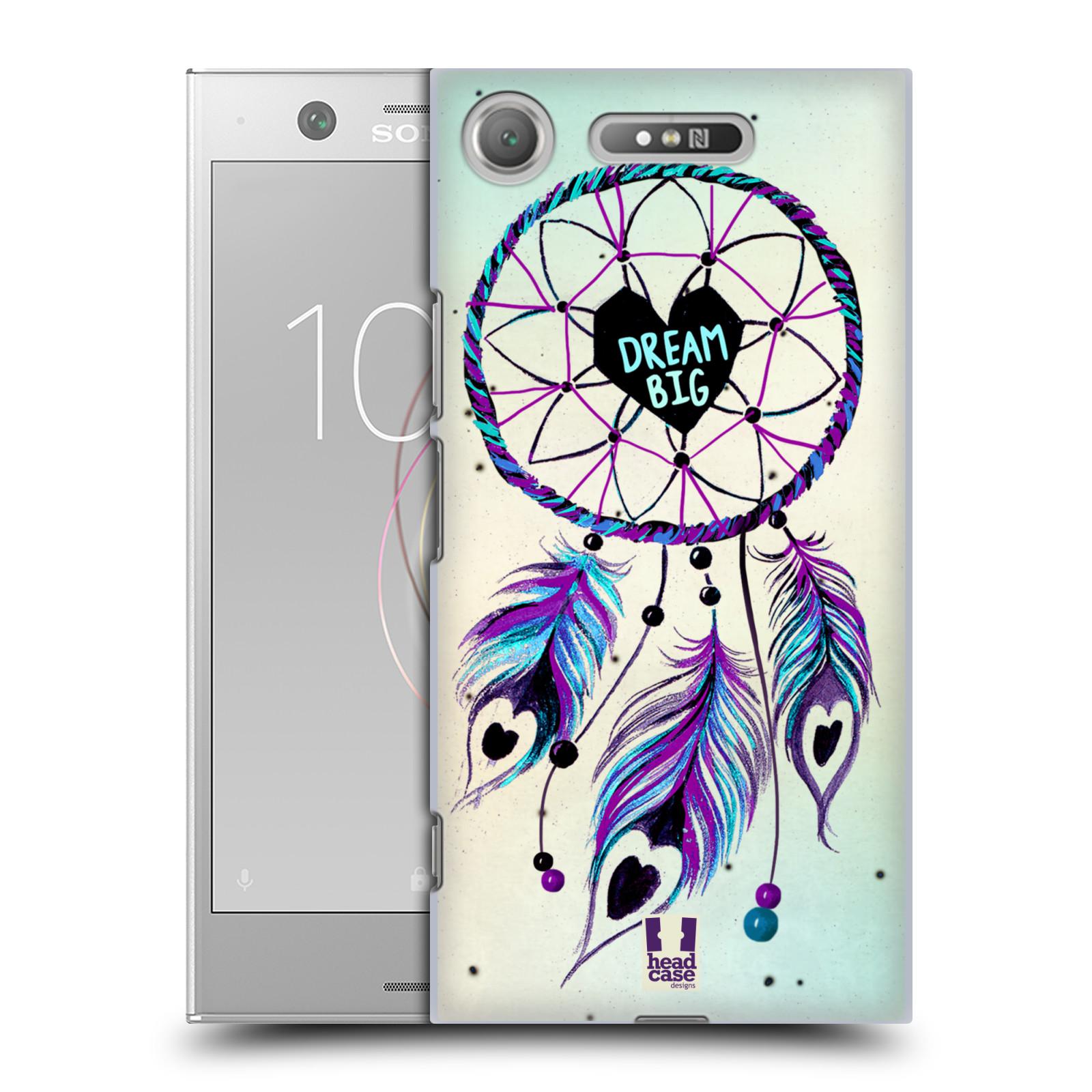 Plastové pouzdro na mobil Sony Xperia XZ1 - Head Case - Lapač Assorted Dream Big Srdce
