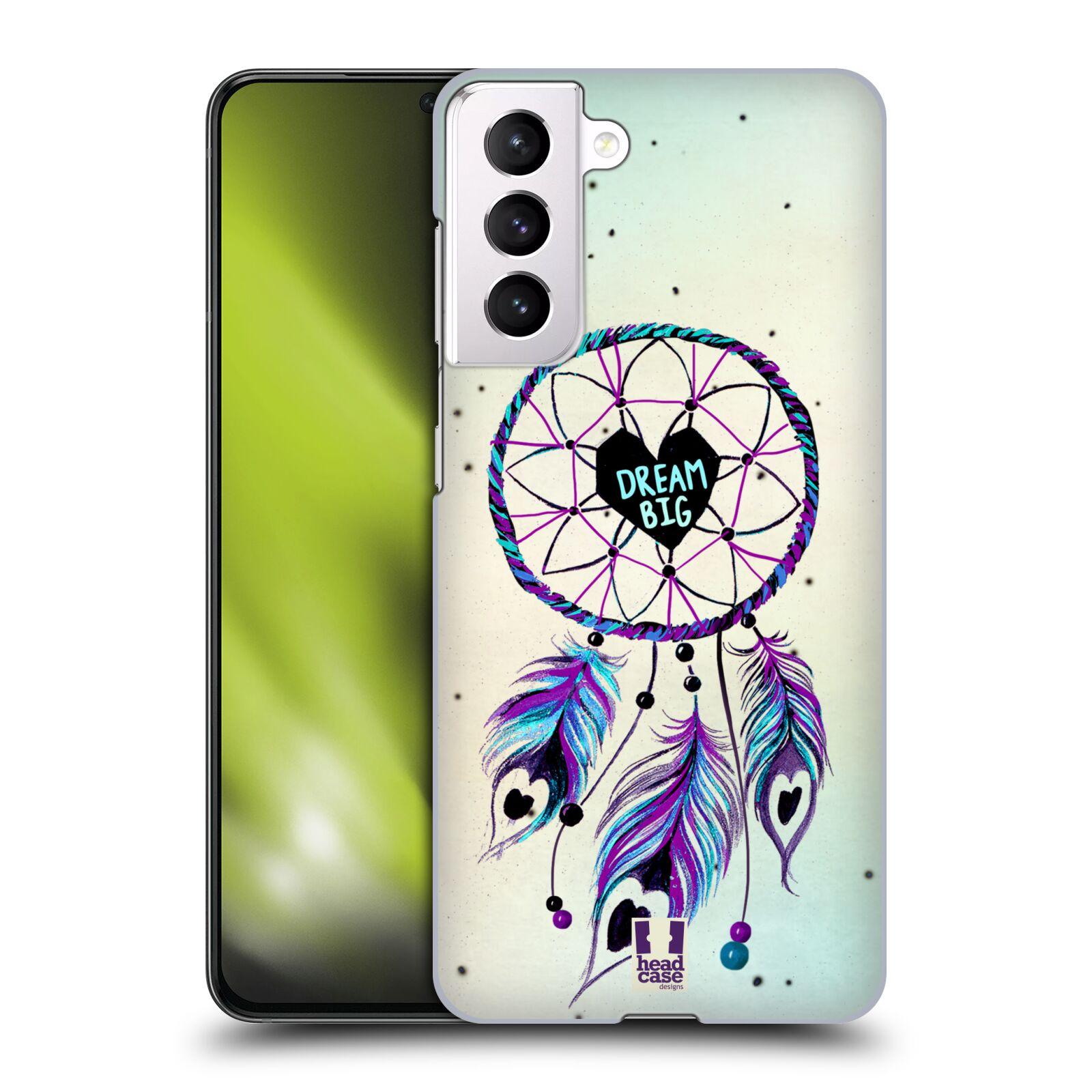 Plastové pouzdro na mobil Samsung Galaxy S21 5G - Head Case - Lapač Assorted Dream Big Srdce