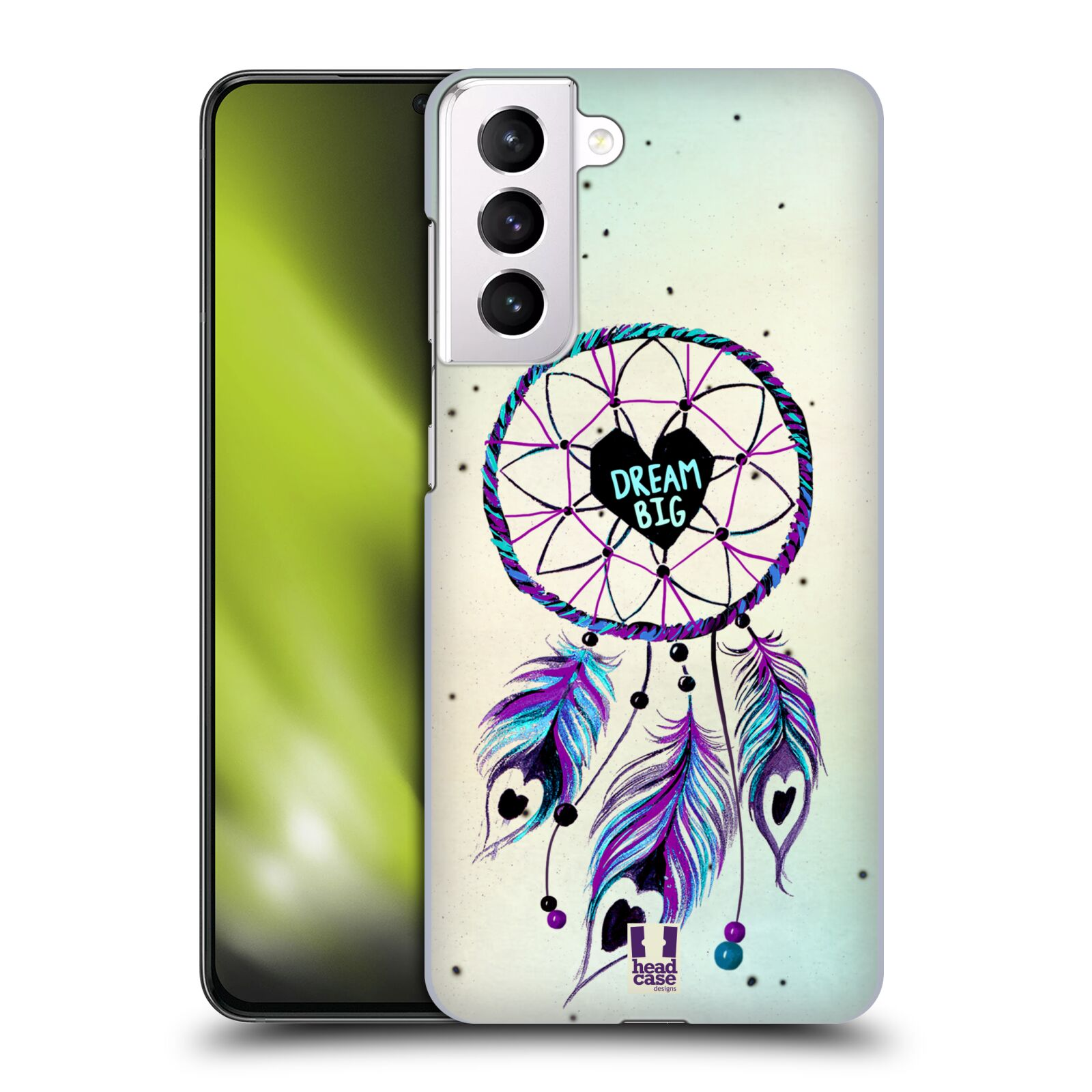 Plastové pouzdro na mobil Samsung Galaxy S21 Plus 5G - Head Case - Lapač Assorted Dream Big Srdce