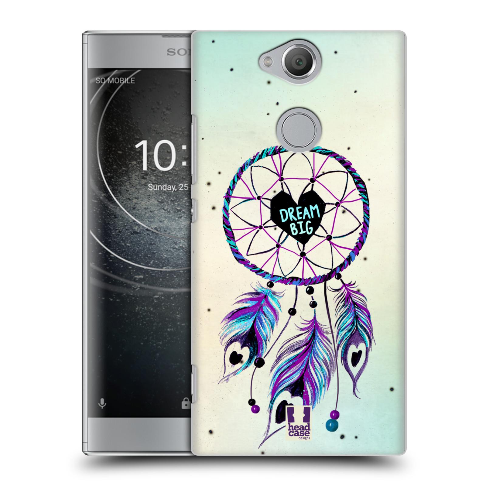 Plastové pouzdro na mobil Sony Xperia XA2 - Head Case - Lapač Assorted Dream Big Srdce